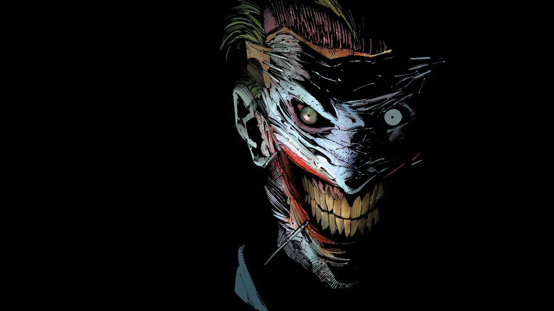 1920x1080 Batman DC Comics The Joker Wallpaper
