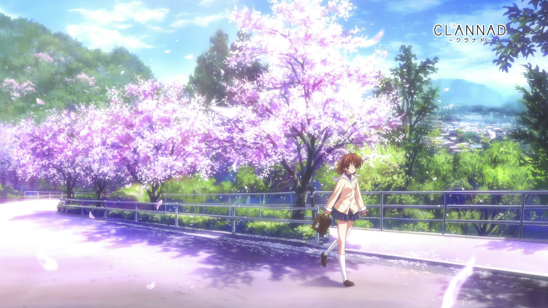 1920x1080 Cherry Blossoms Wallpaper  Cherry, Blossoms, Clannad .