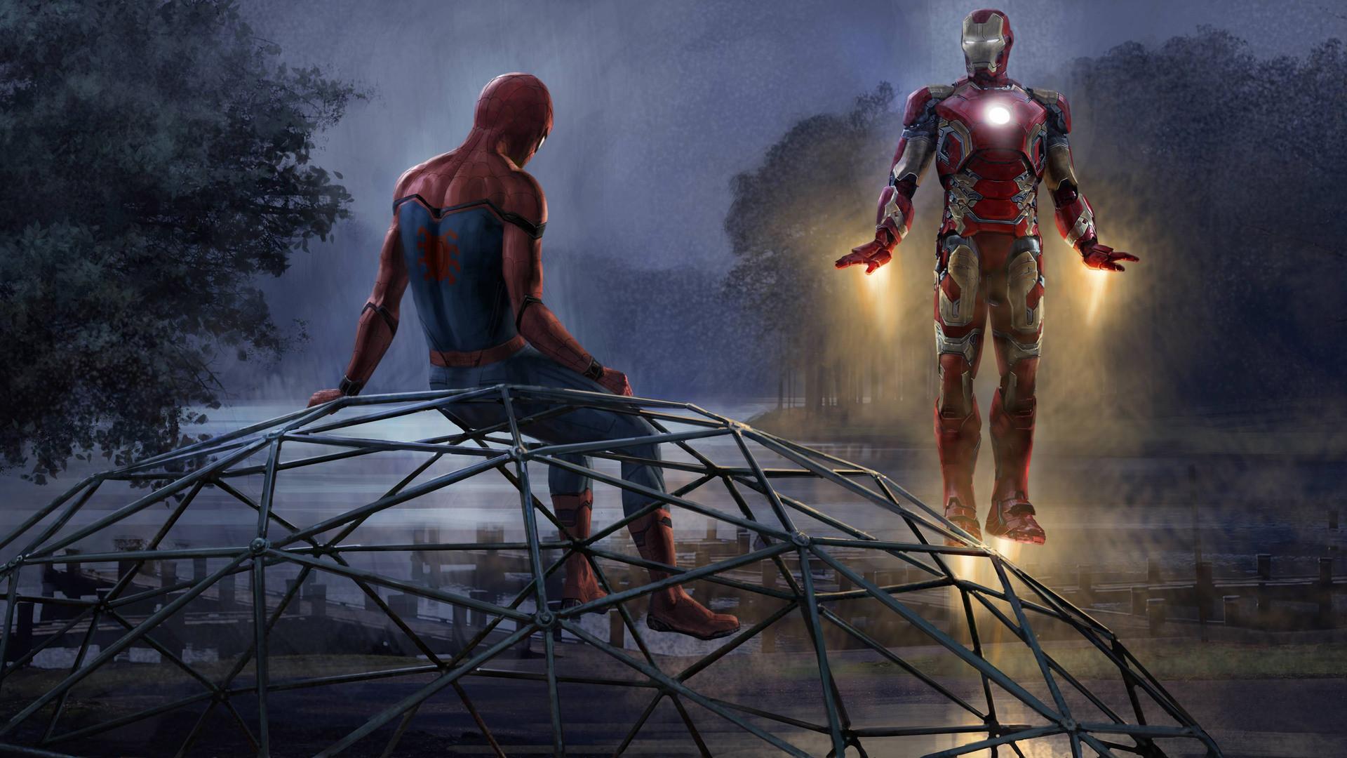 4k spiderman wallpaper 55 images - Iron man spiderman wallpaper ...