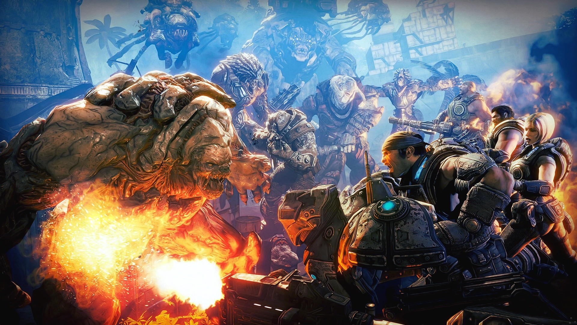 1920x1080 Gears of War 3 Battle Wallpapers