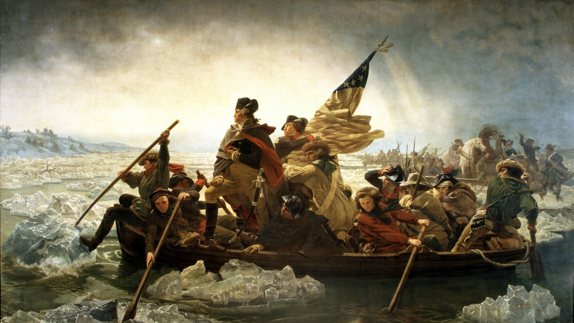 Washington Crossing The Delaware Wallpaper 56 Images