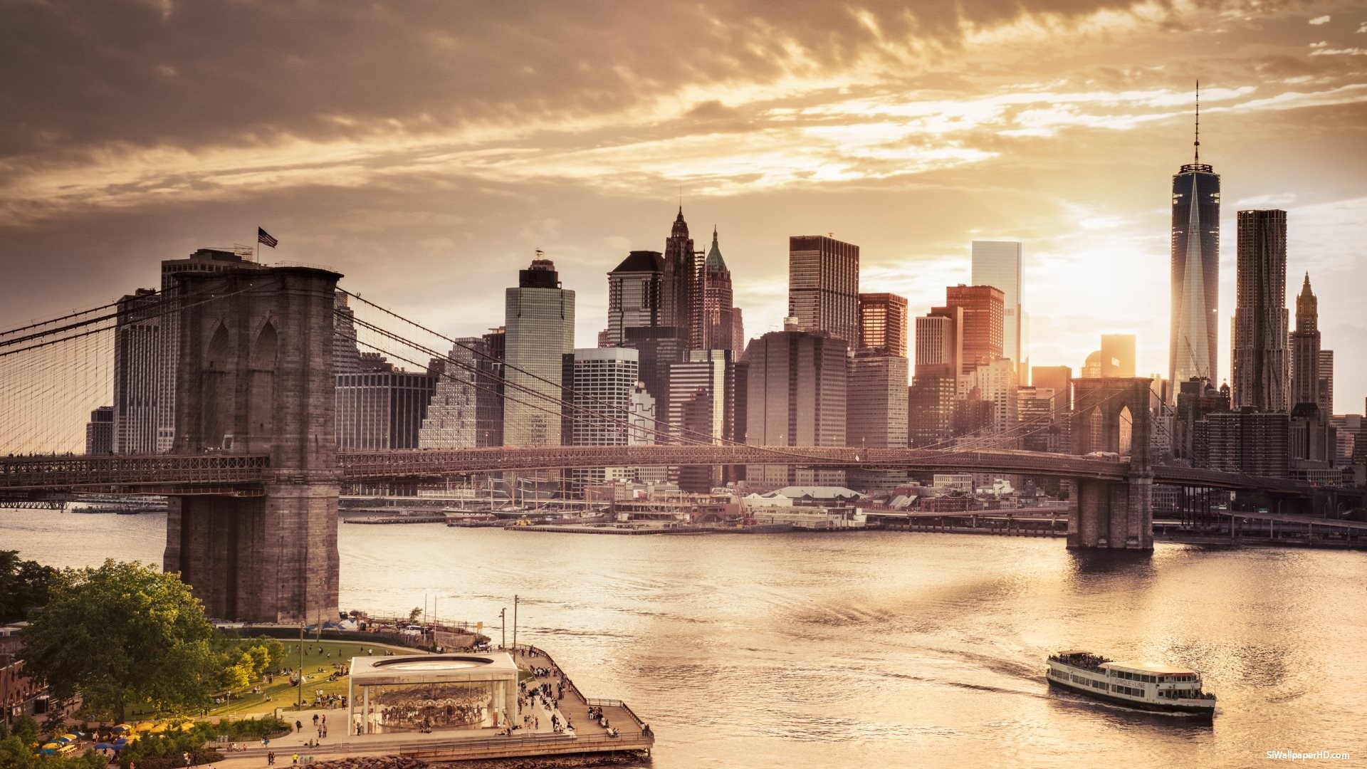 1920x1080 New York City Skyline Wallpaper HD 16 Image High Resolution Wallpaper .