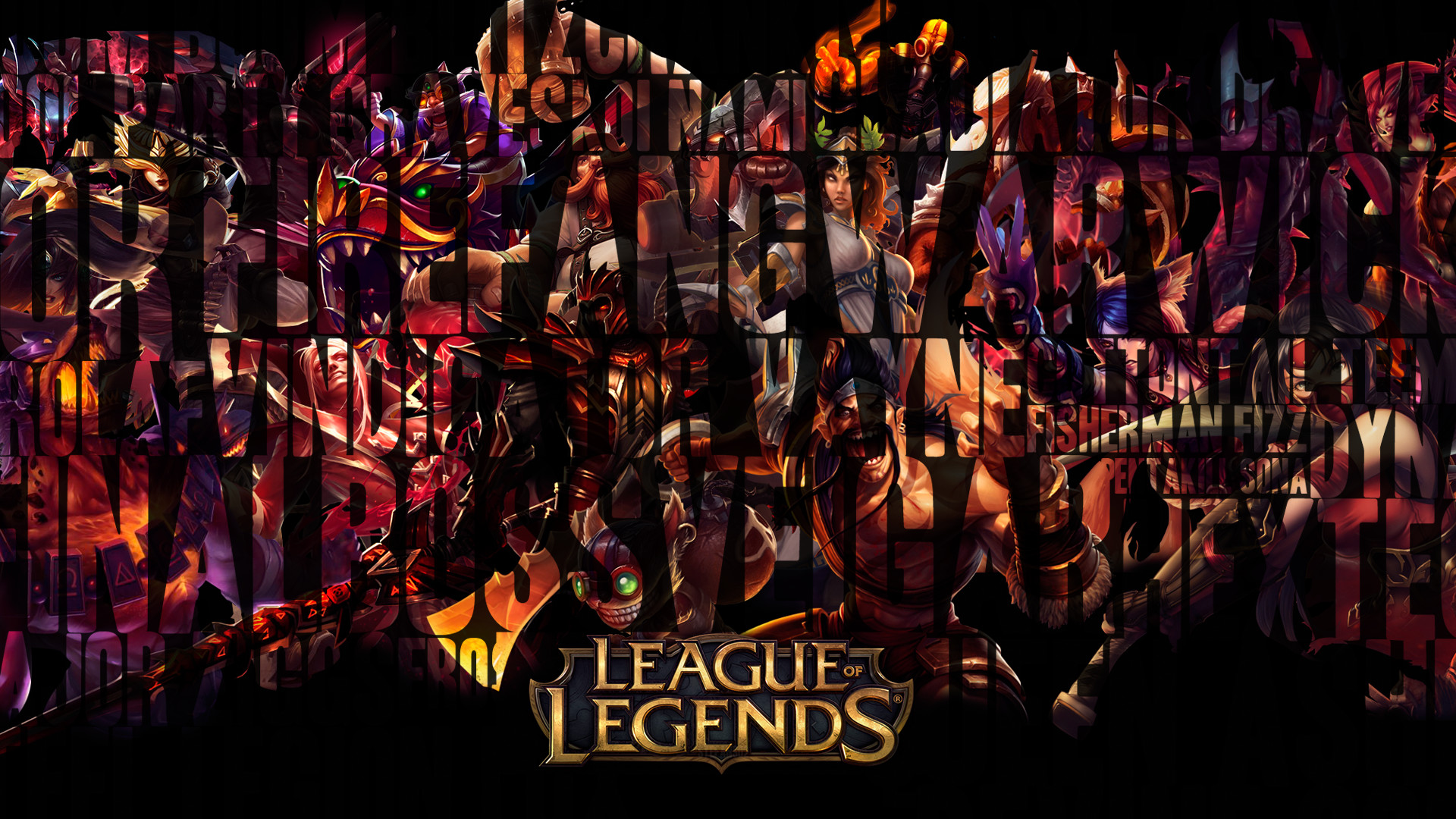 1920x1080 League Of Legends Wallpapers HD Group (72+)