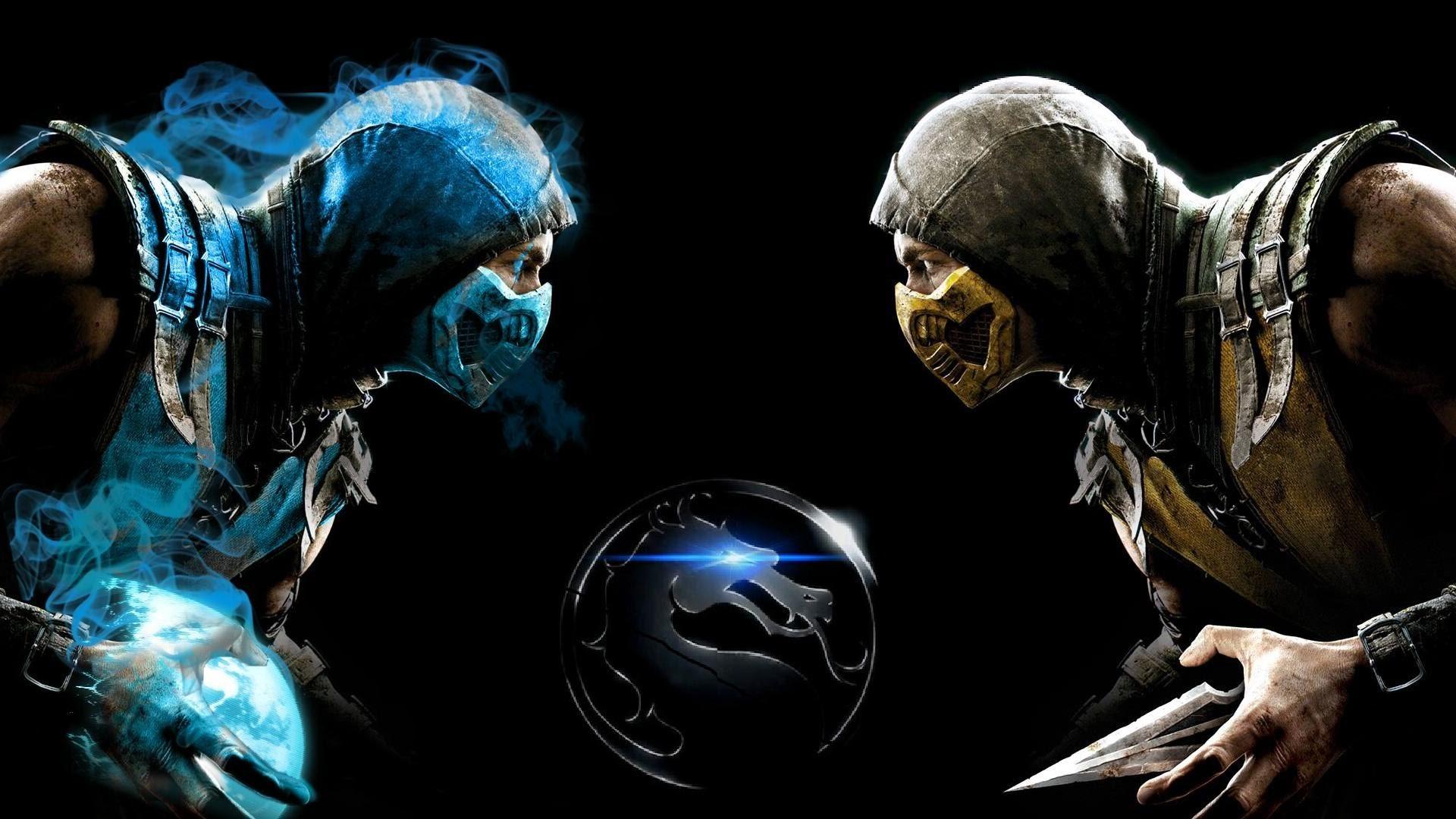 Mortal kombat 9 - Scorpion vs Sub Zero Vs Kratos - YouTube