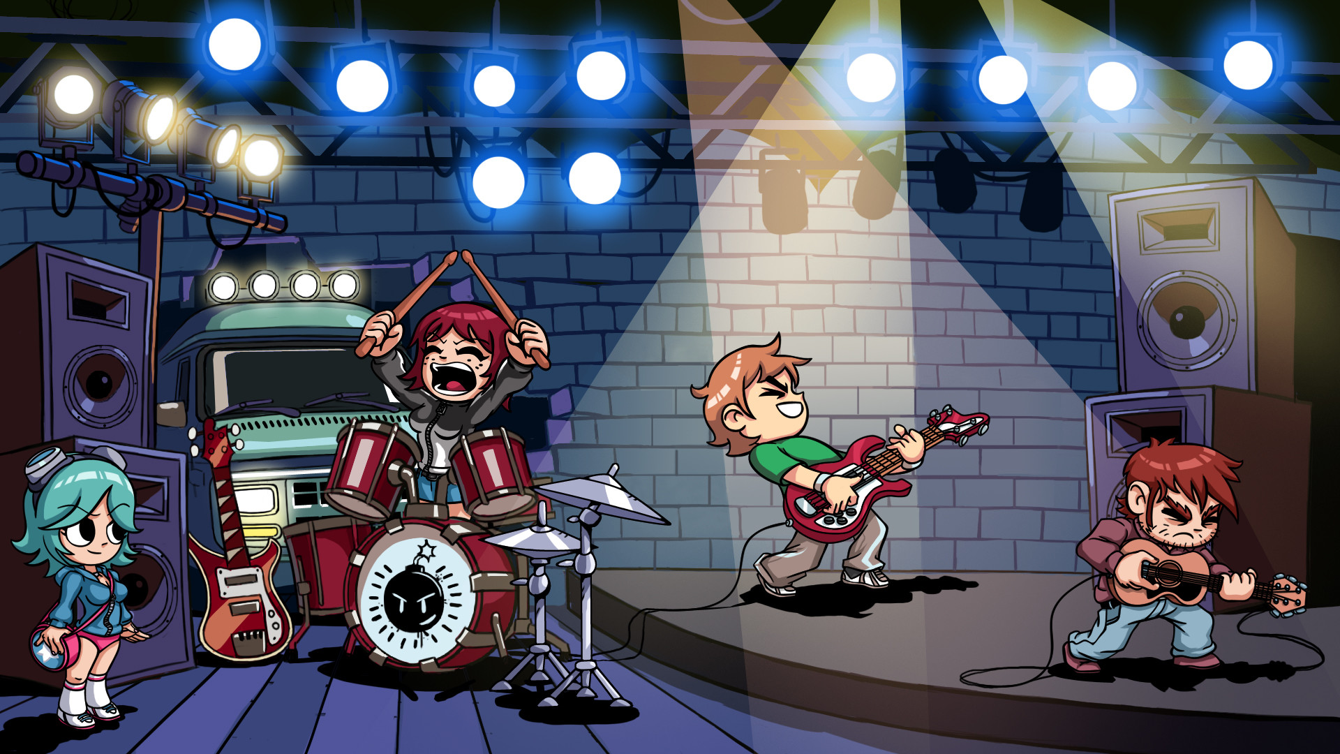 1920x1080 Scott Pilgrim Wallpaper by Blacksabbat Scott Pilgrim Wallpaper by  Blacksabbat
