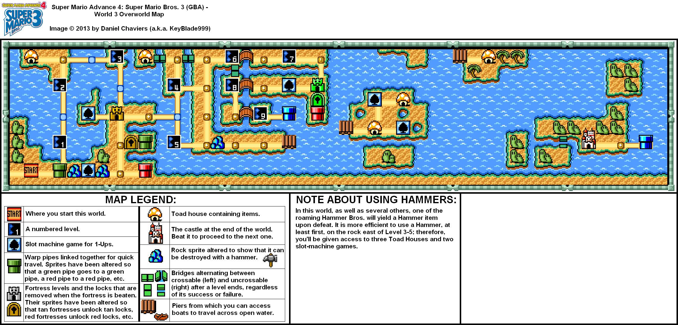 Yoshi S Island Level Maps