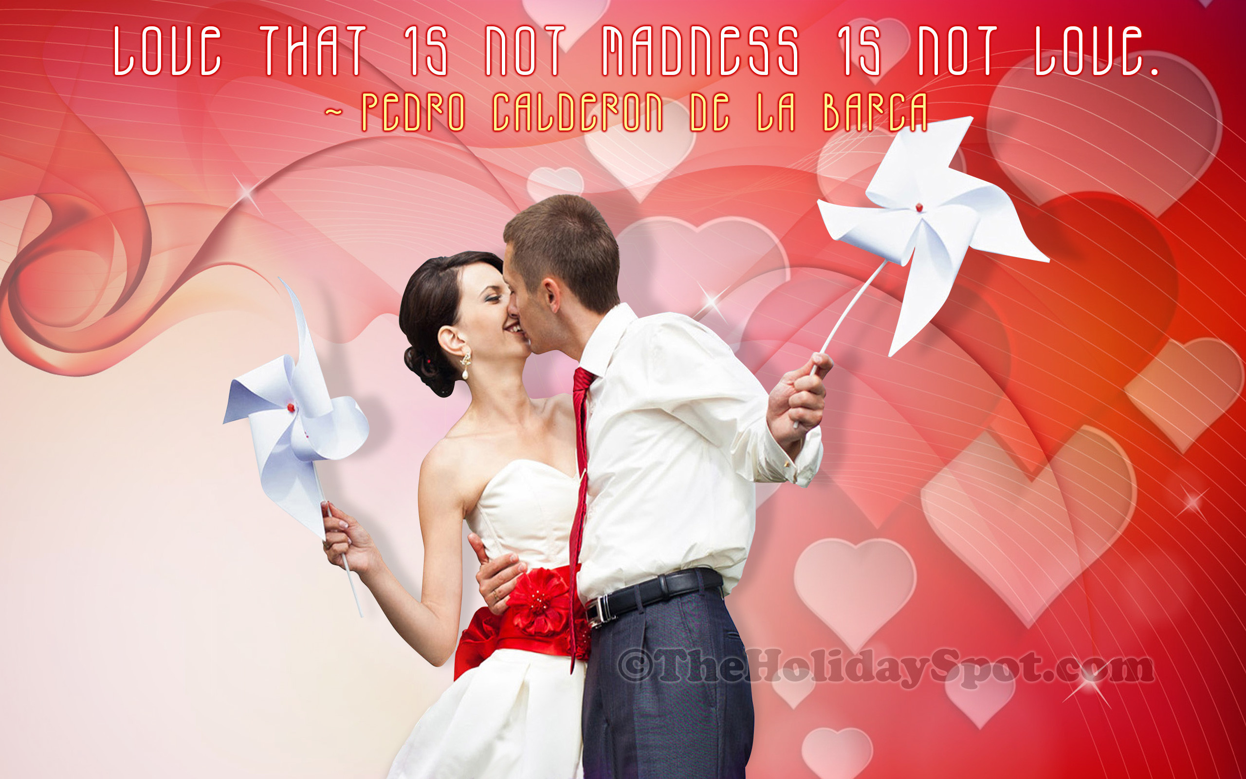 2560x1600 Valentine's Day Wallpaper of Love and Madness