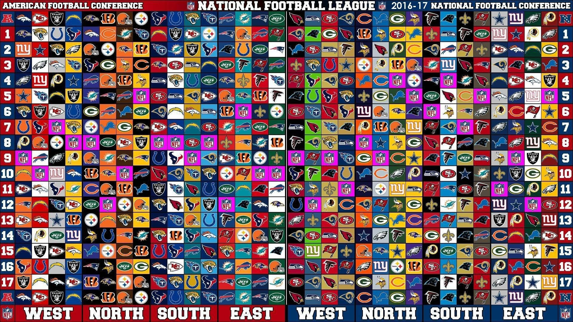 1920x1080 Nfl Teams Wallpapers 2016 Wallpaper Cave Nfl Live Wallpaper 2017