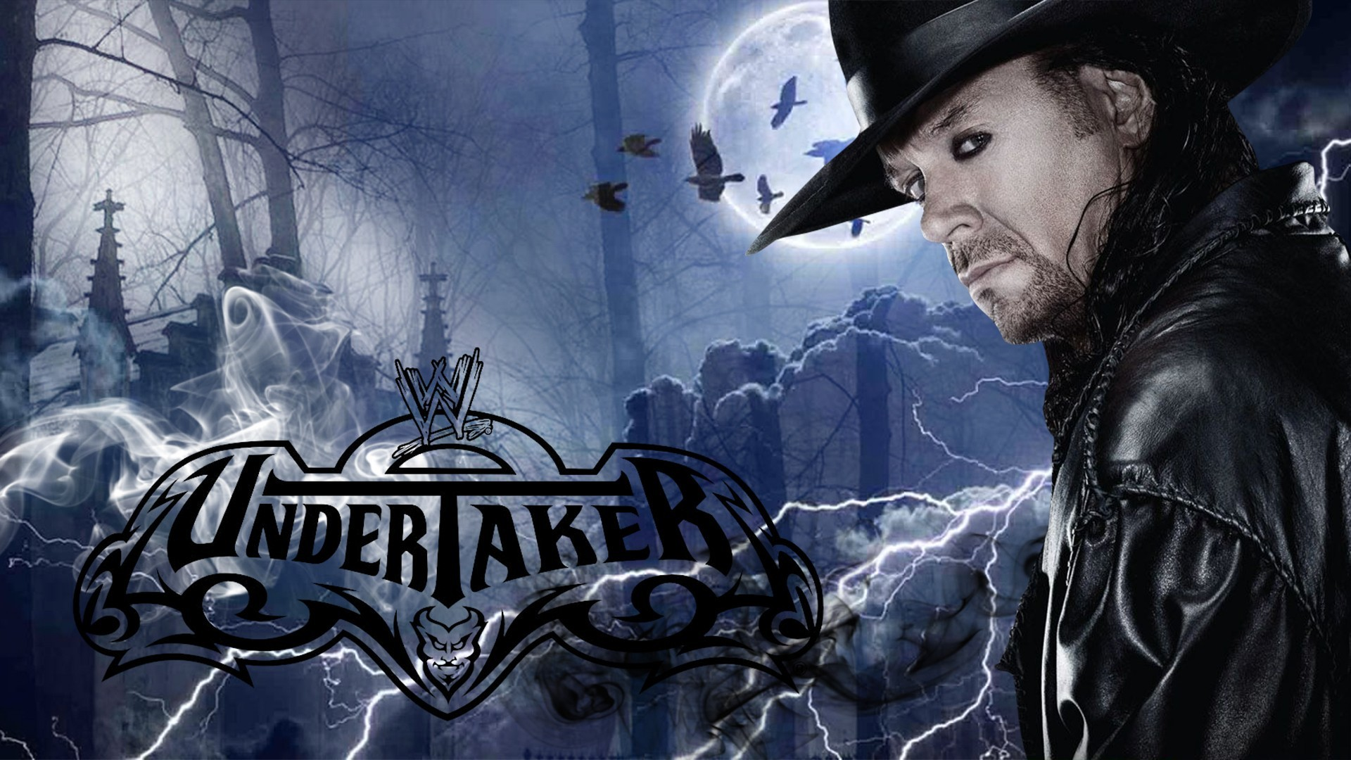 1920x1080  Undertaker Wallpaper #10. You can download the high-resolution  image here