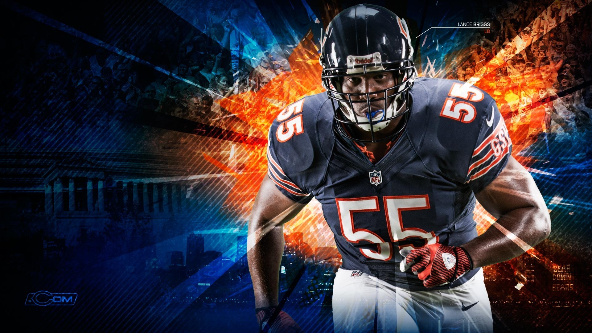 Chicago Bears Wallpaper Free HD Backgrounds Images Pictures
