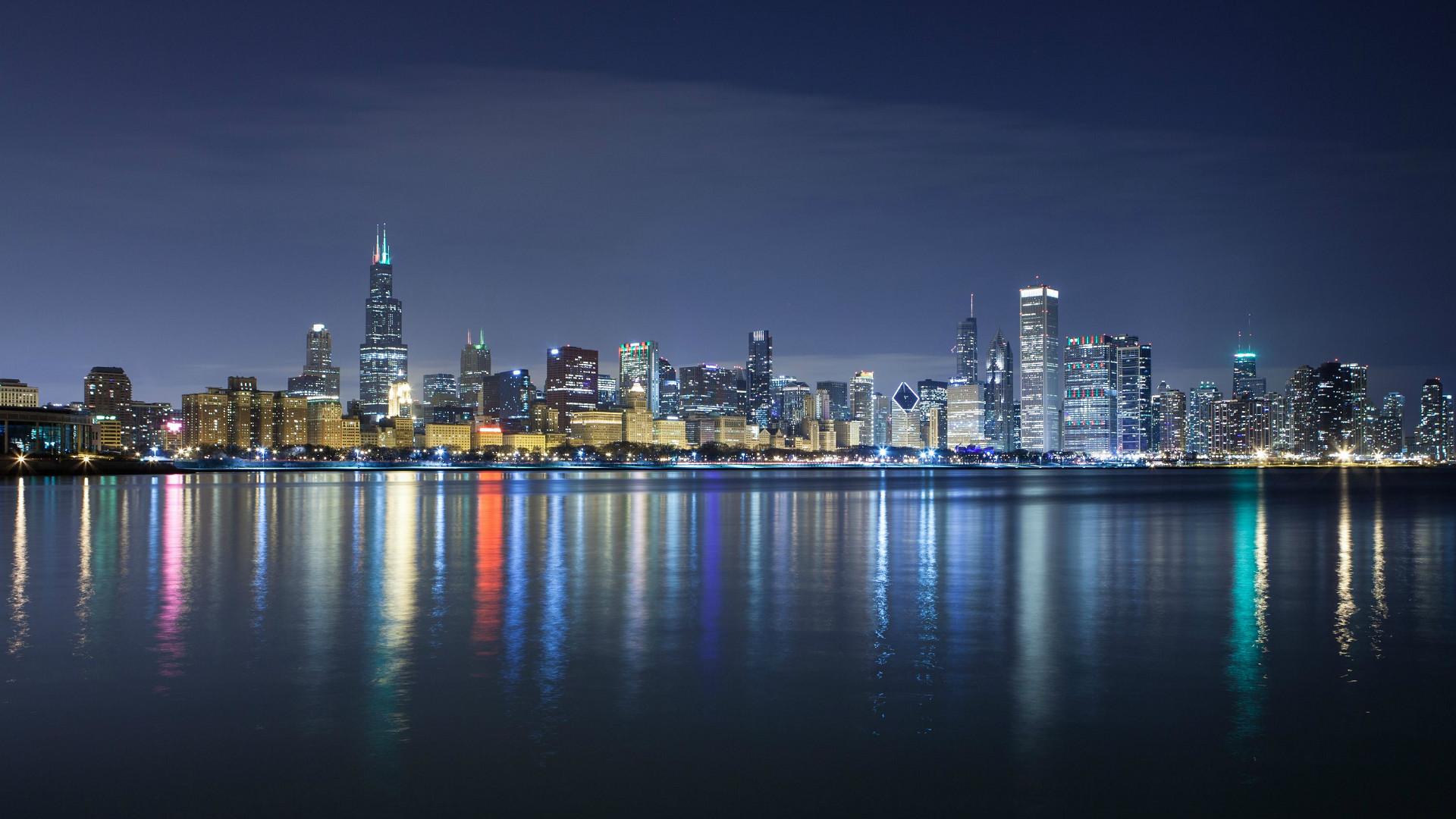 Chicago Skyline Wallpaper 1920x1080 74 Images