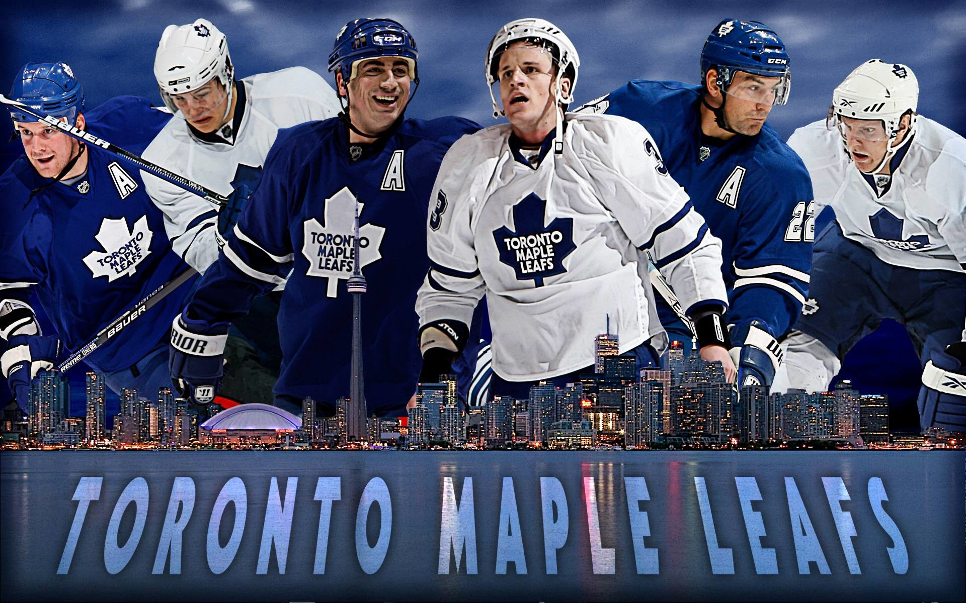 1920x1200 Dion Phaneuf Toronto Maple Leafs wallpaper - 391309