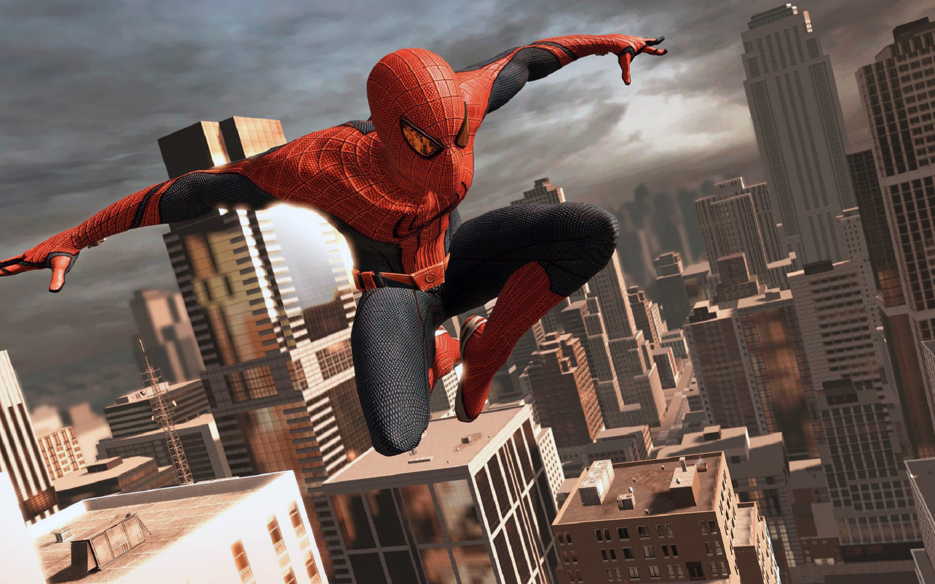 1920x1200 Spider Man Web Shooting Background Wallpaper The Amazing Spider Man Game 3D  Wallpapers