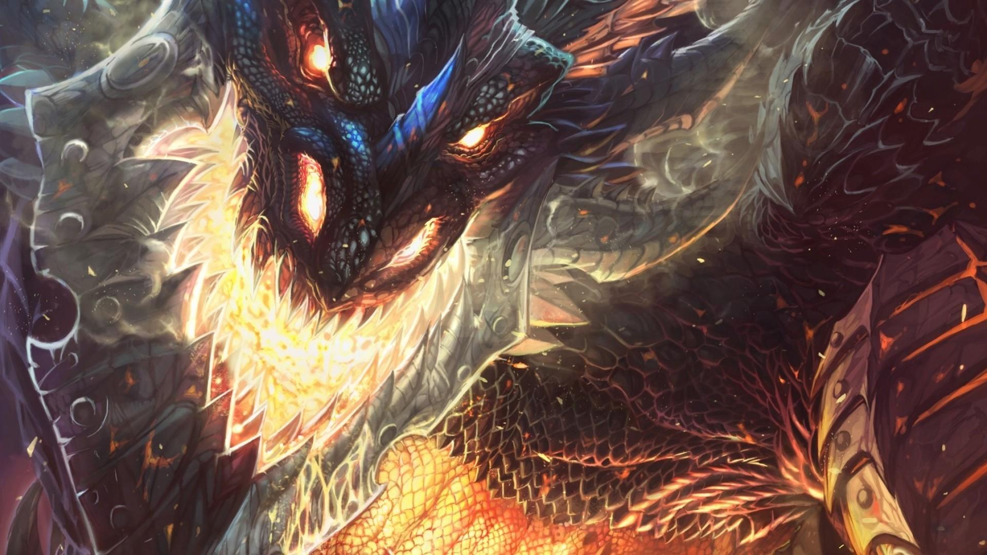 Fire Dragon Wallpaper (67+ images)