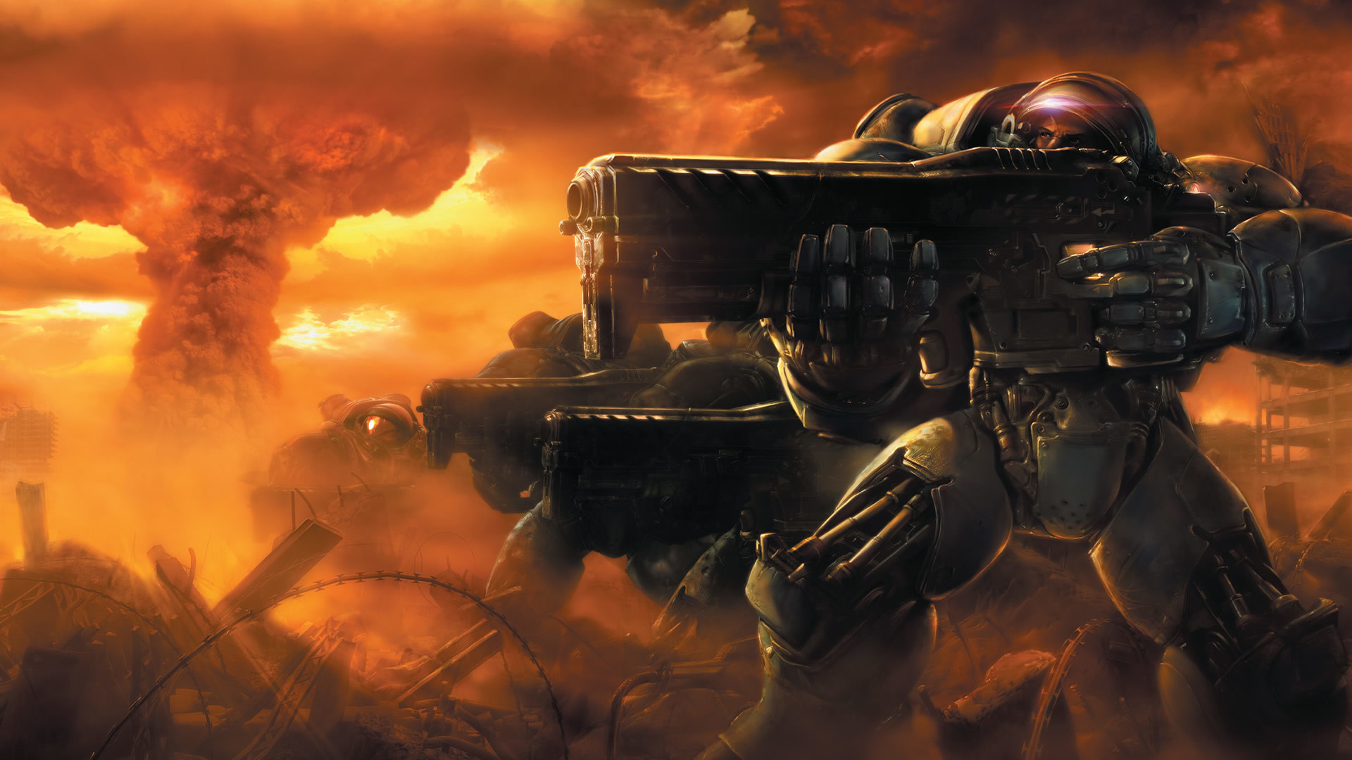 Starcraft Marine Wallpaper