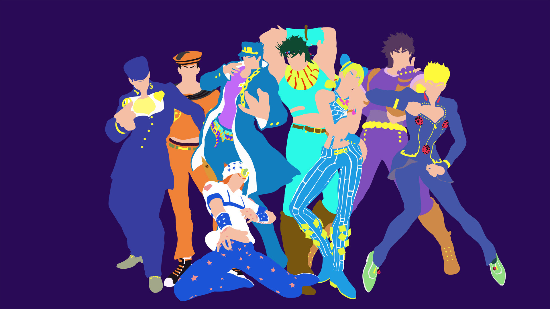 1920x1080 Jojo's Bizarre Adventure Wallpaper 10 - 1920 X 1080