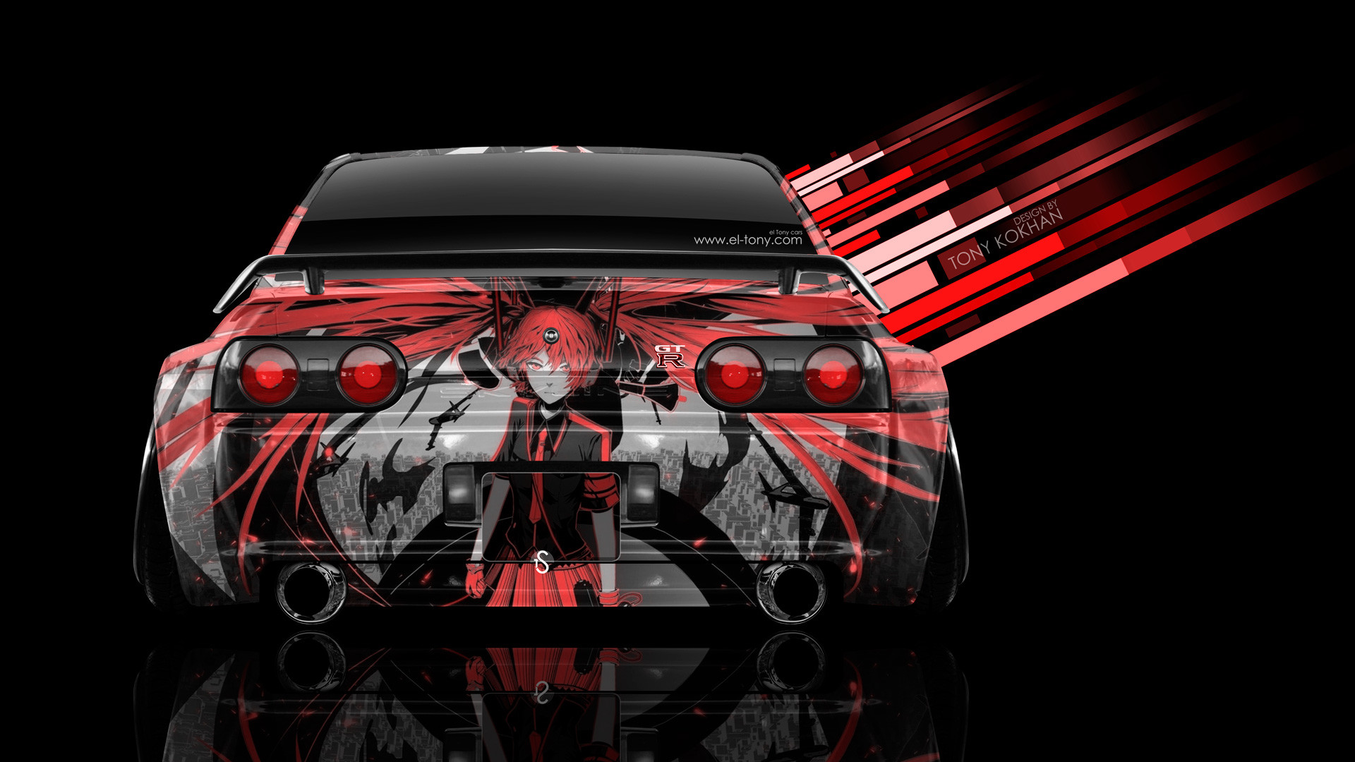 1920x1080 CK-Modelcars - T9-1800198: Nissan Skyline GT-R year 2017 orange