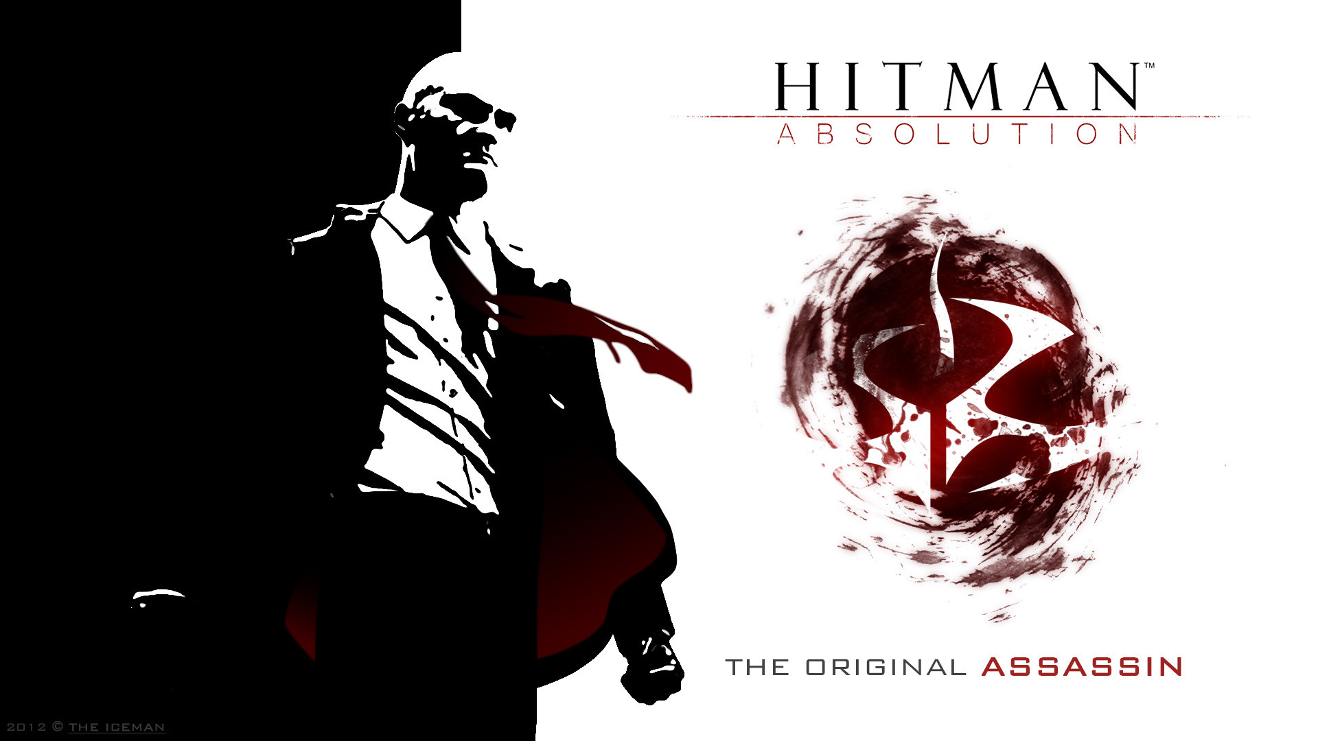 1920x1080 ... Hitman Absolution Wallpaper - Agent 47 (Full HD) by TheIcemanPL