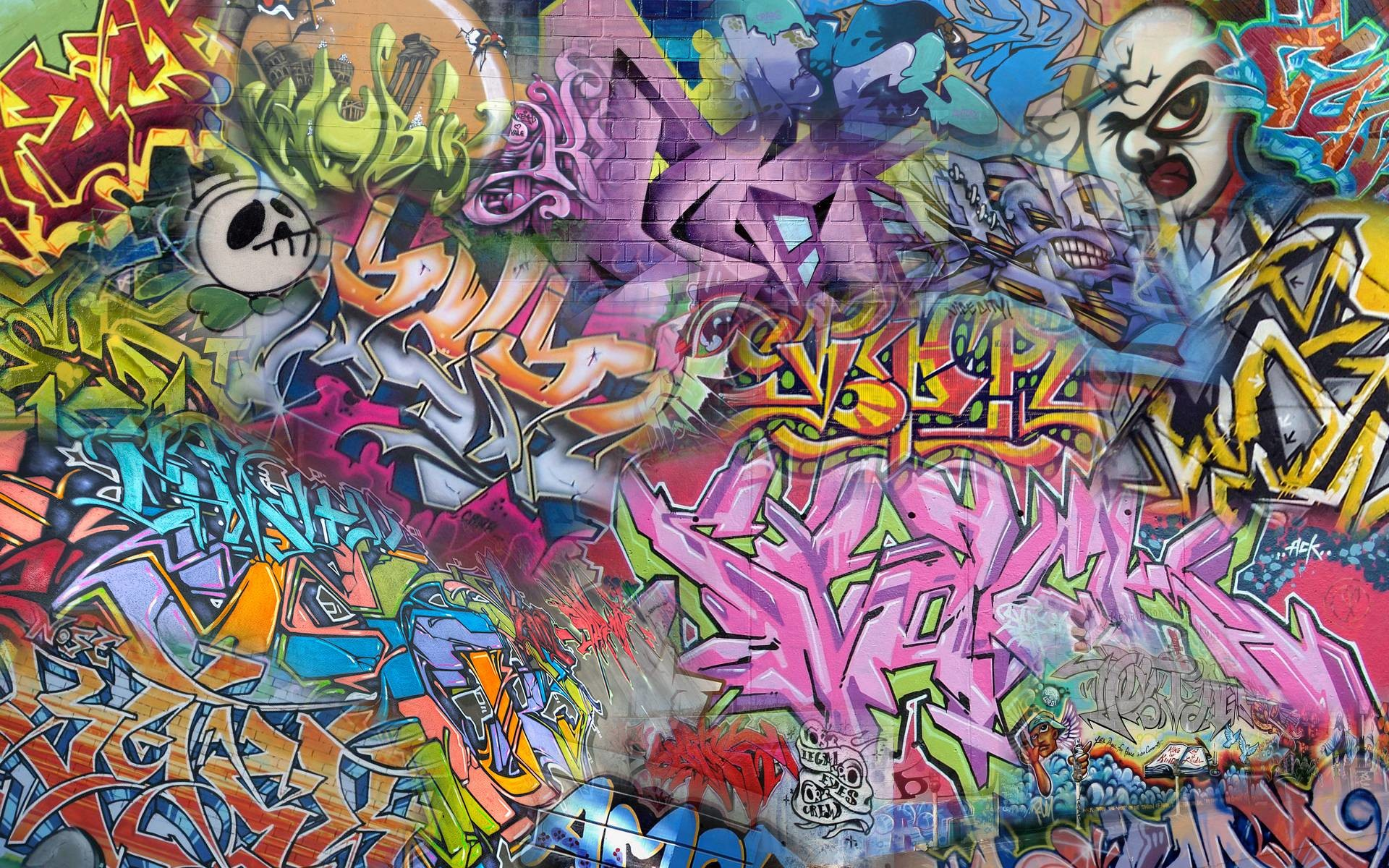 Abstract Graffiti Wallpaper 65 Images
