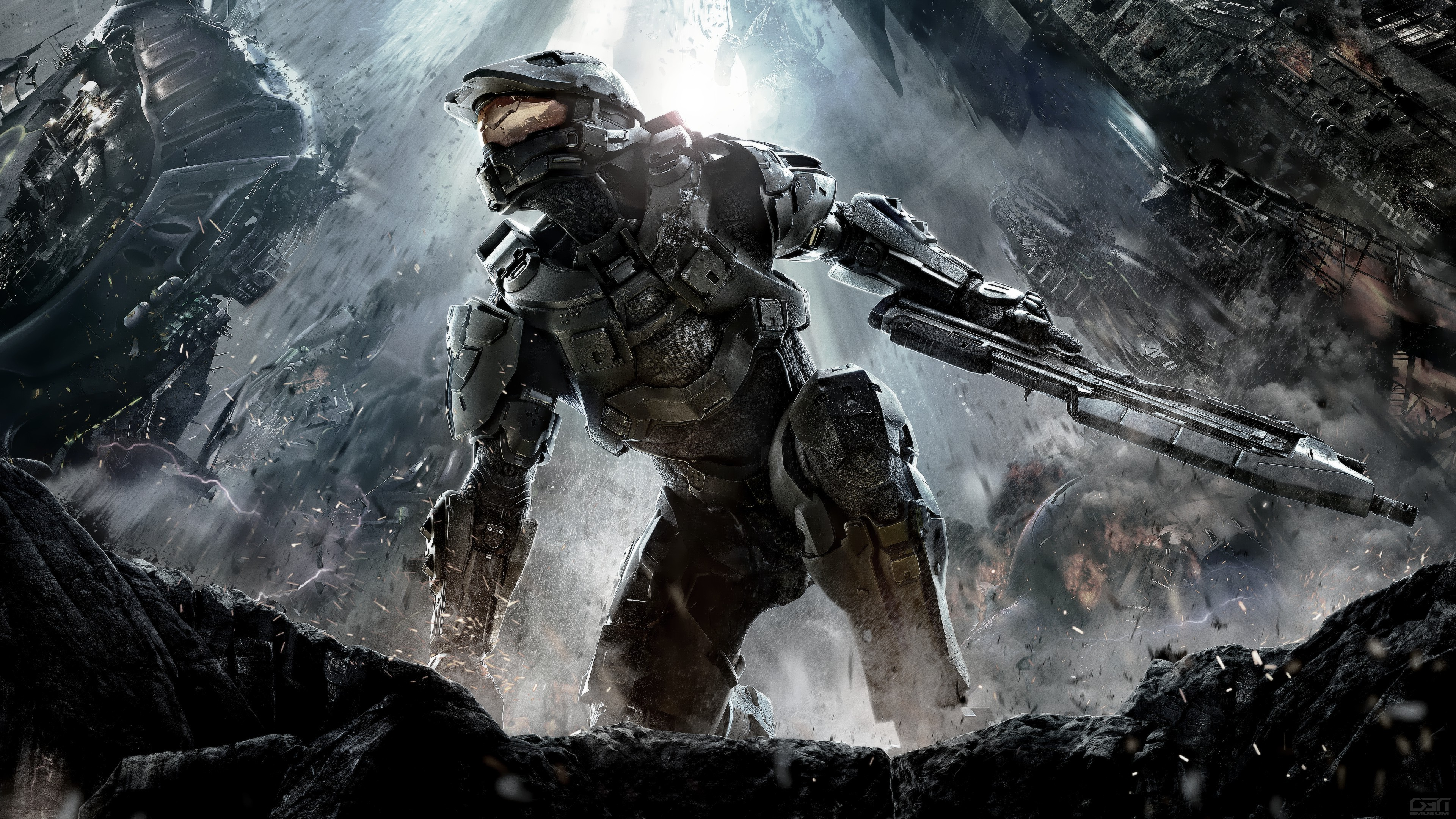 3840x2160 Halo Guardians Team Chief Wallpapers HD Wallpapers 2420 1778 Source · Master  Chief Wallpaper HD