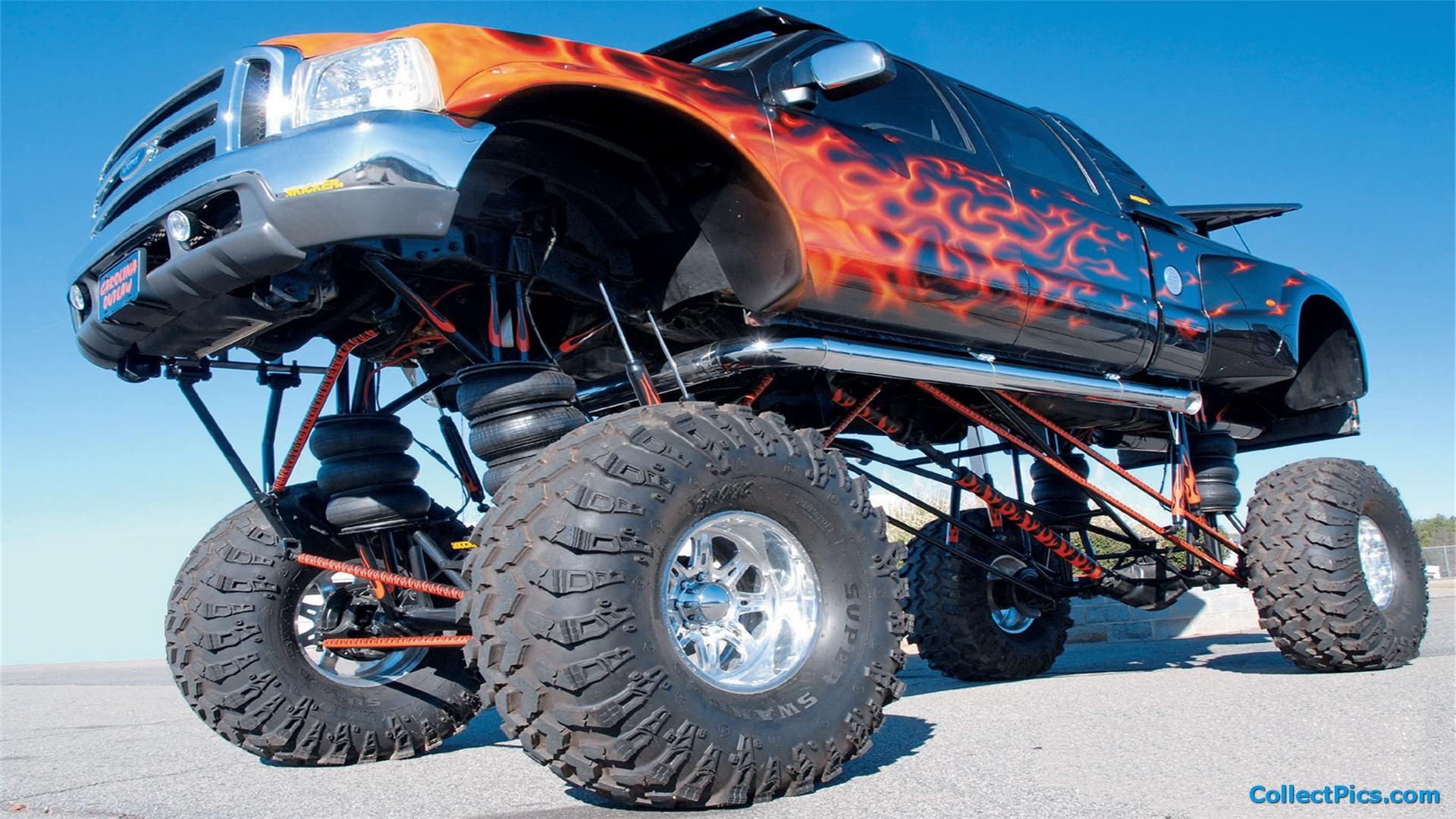 Camaro Monster Truck >> Monster Trucks Wallpaper (53+ images)