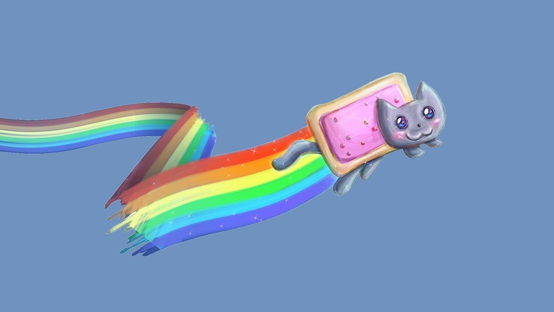 Nyan Cat Rainbow Arc