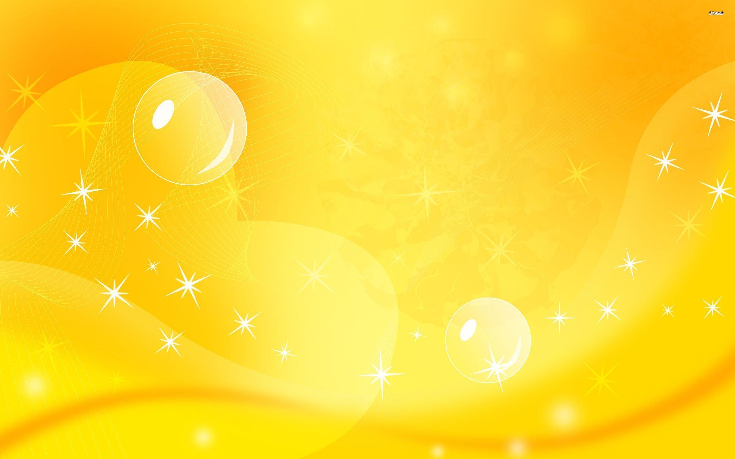 2560x1600 Yellow Background Design