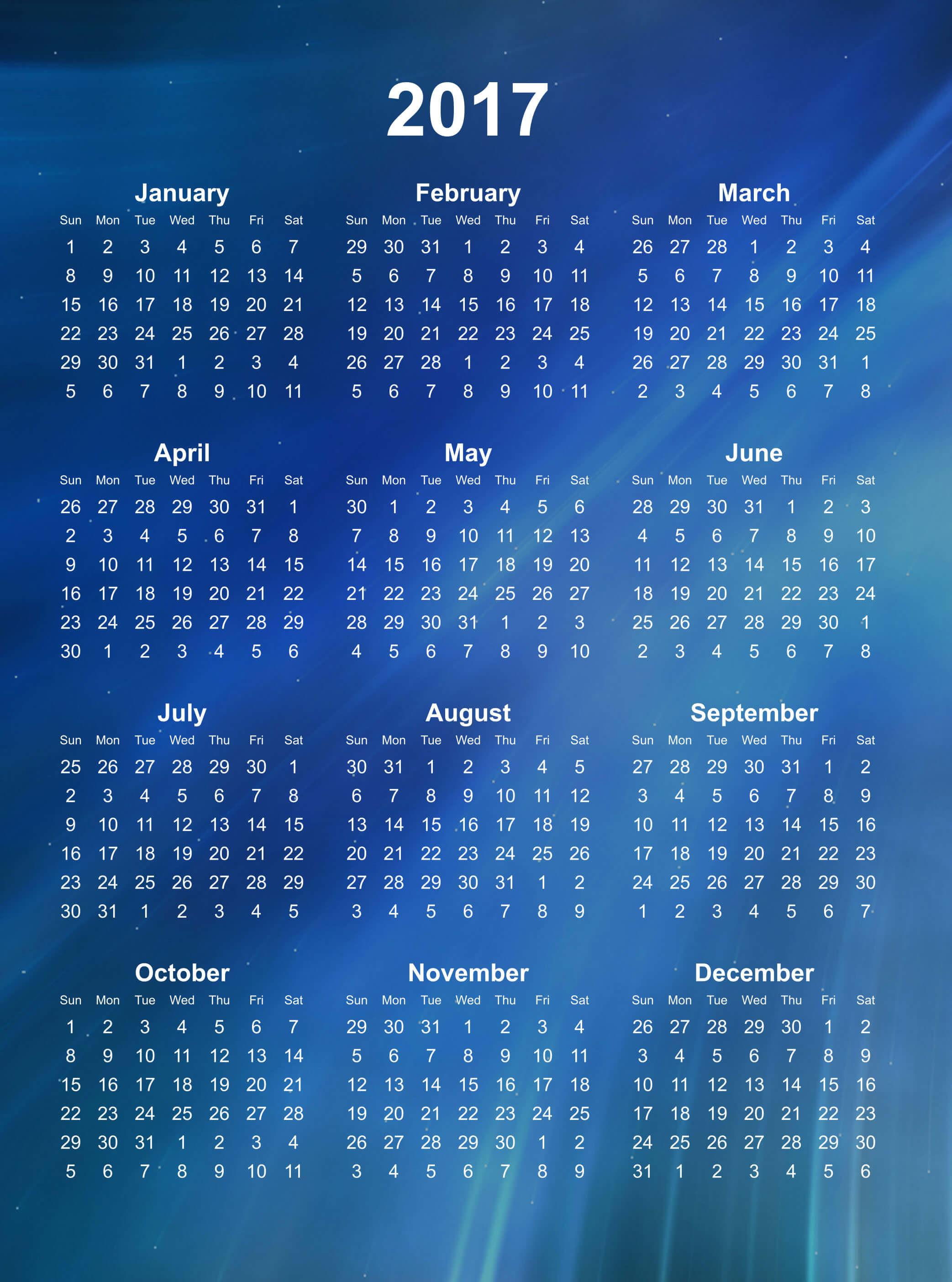 Yearly Calendar Wallpaper : Wallpaper calendars for  images