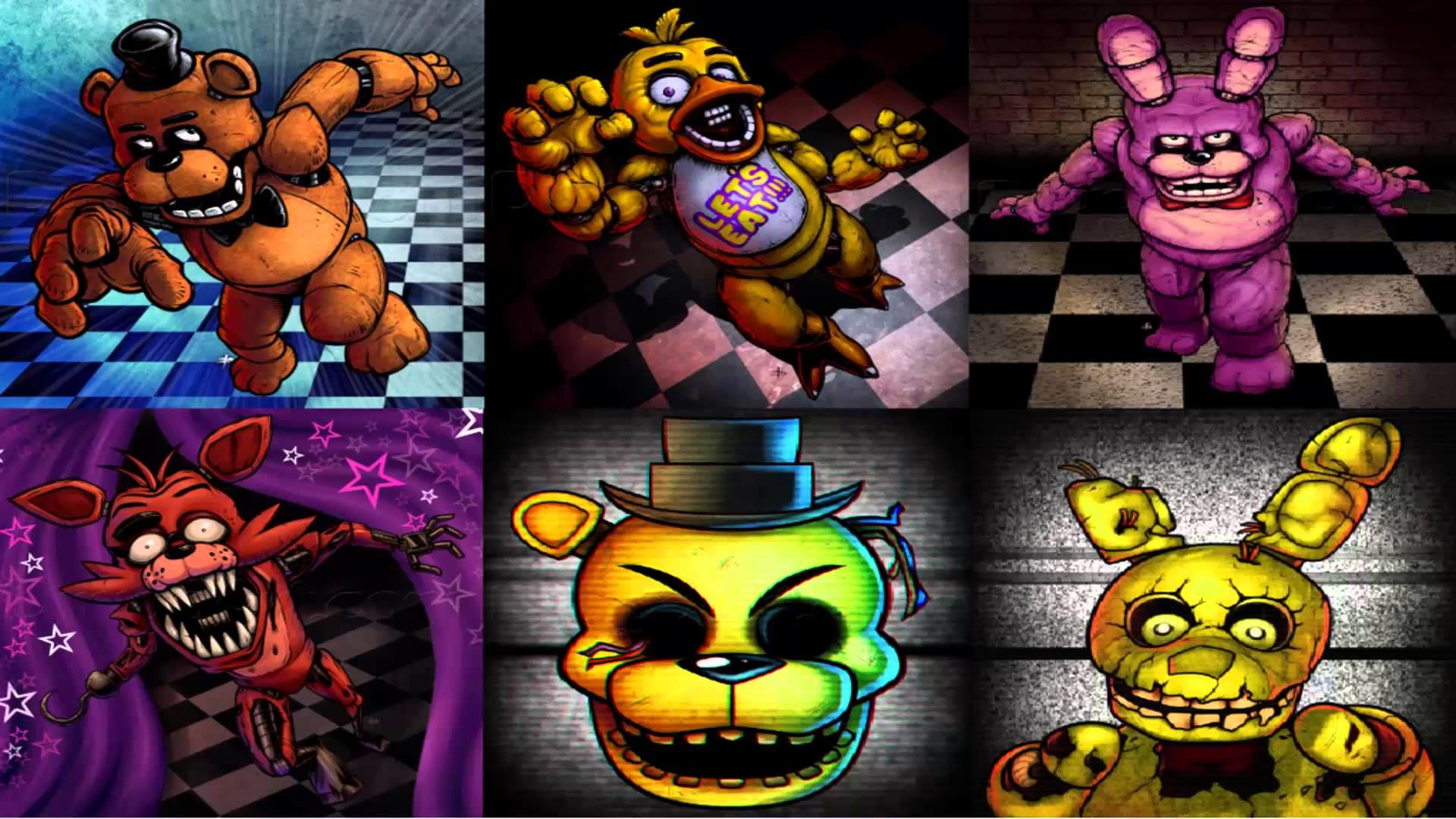 1920x1080 Five Nights at Freddy's Wallpapers
