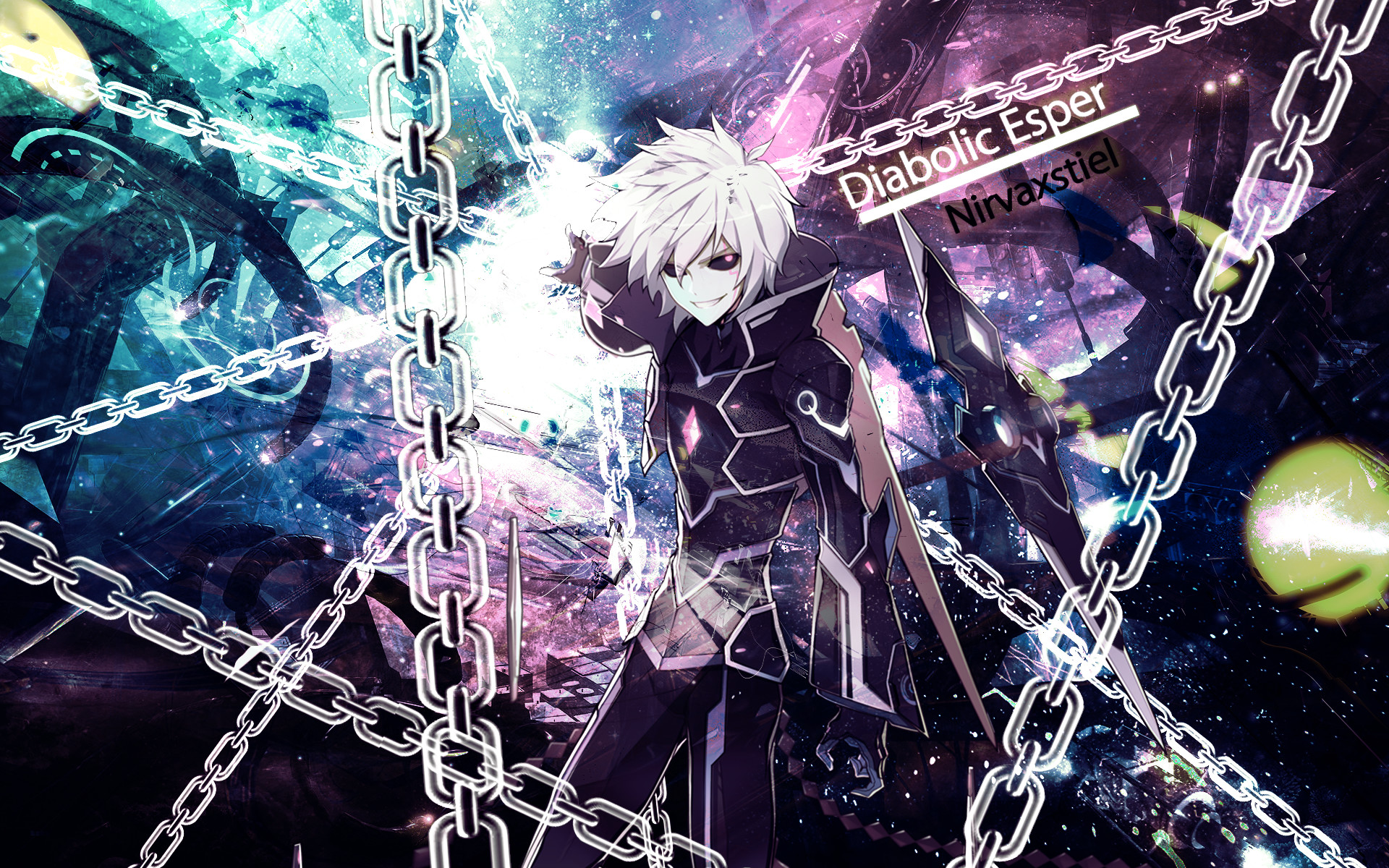 1920x1200 ... Elsword - Add Diabolic Esper Wallpaper by Nirvaxstiel