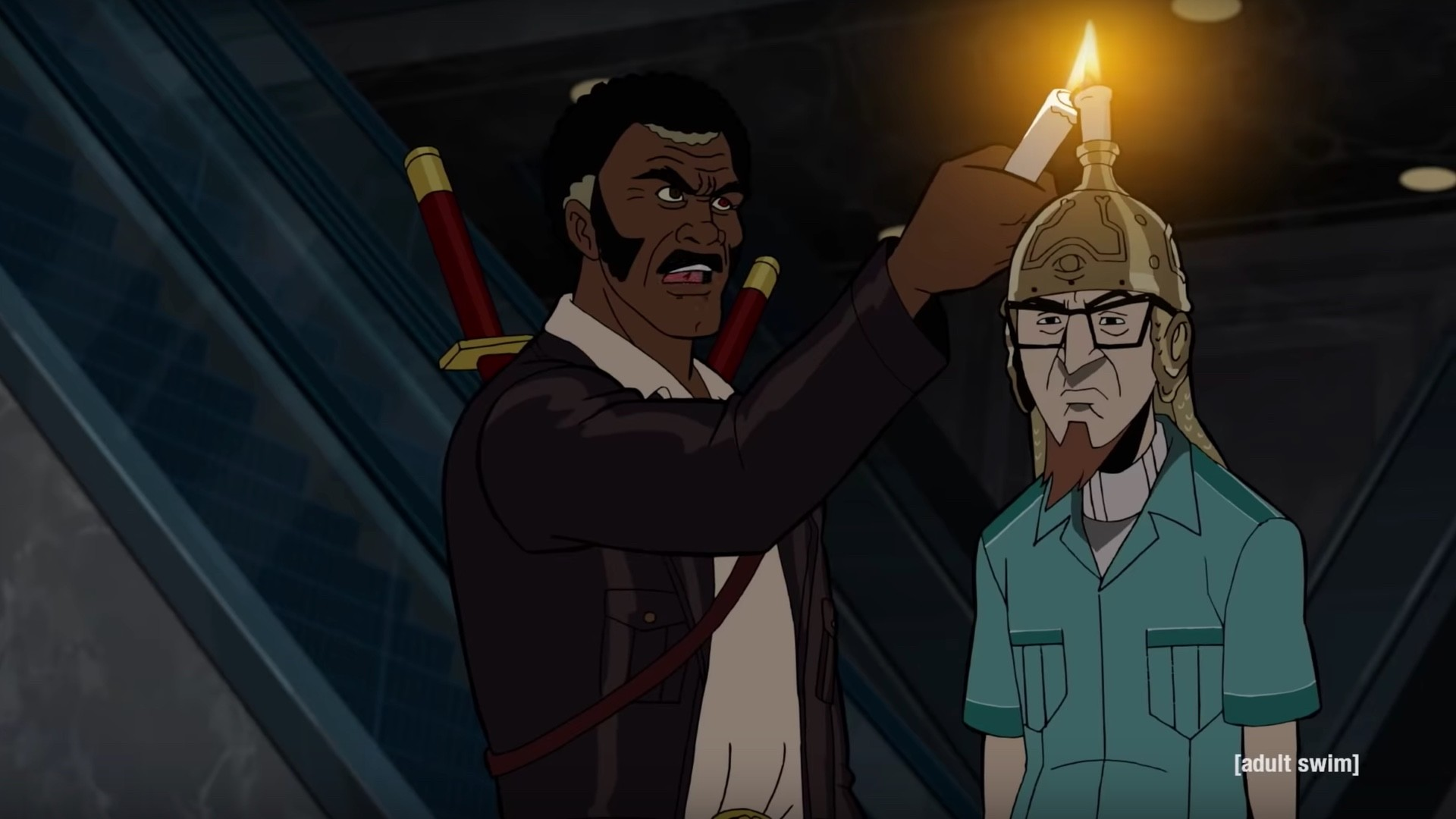 1920x1080 The First Clip For THE VENTURE BROS. Season 7 Features The Team Conjuring a  Demon — GeekTyrant