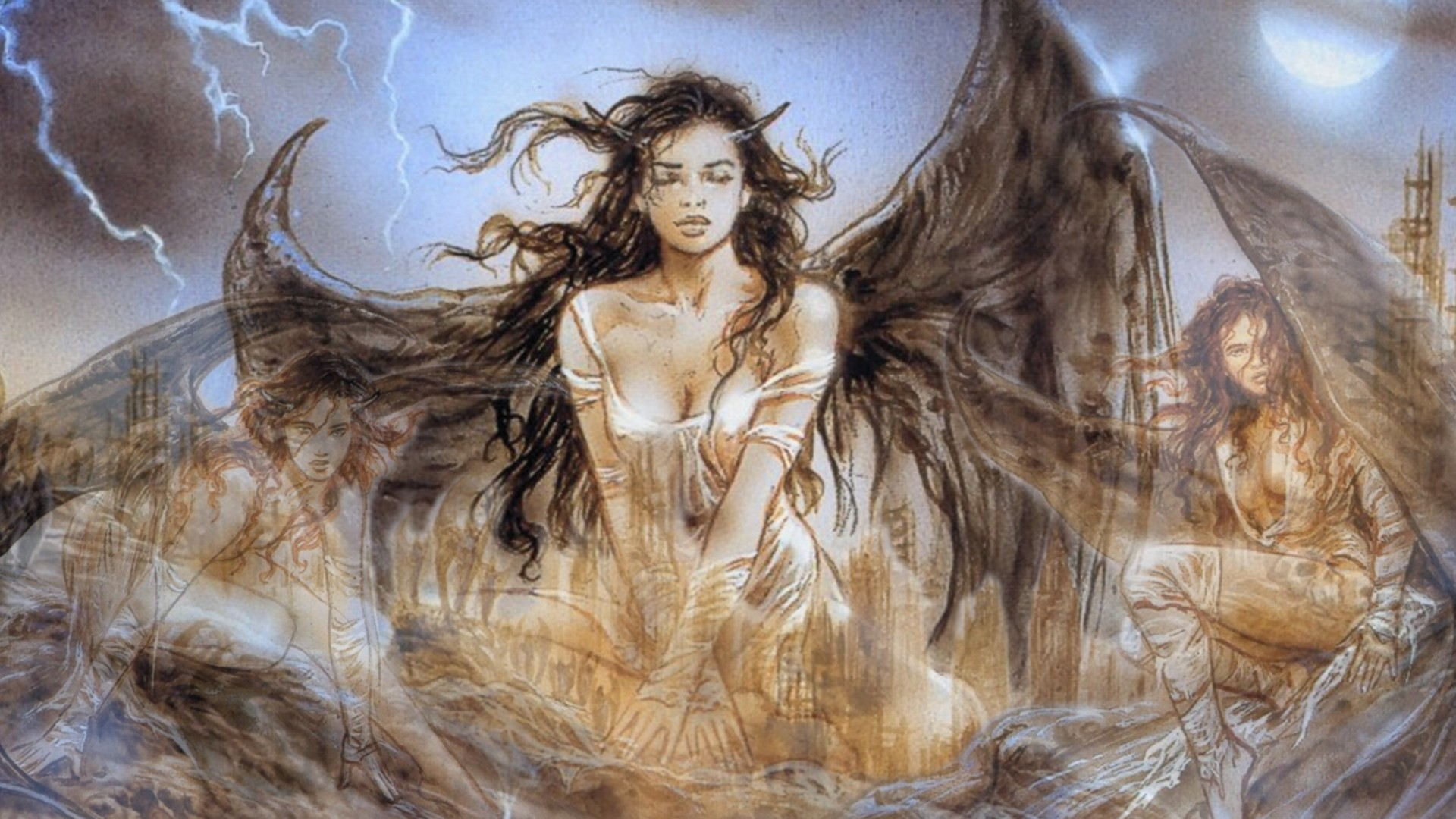 1920x1080 luis royo prohibited book - Google Search