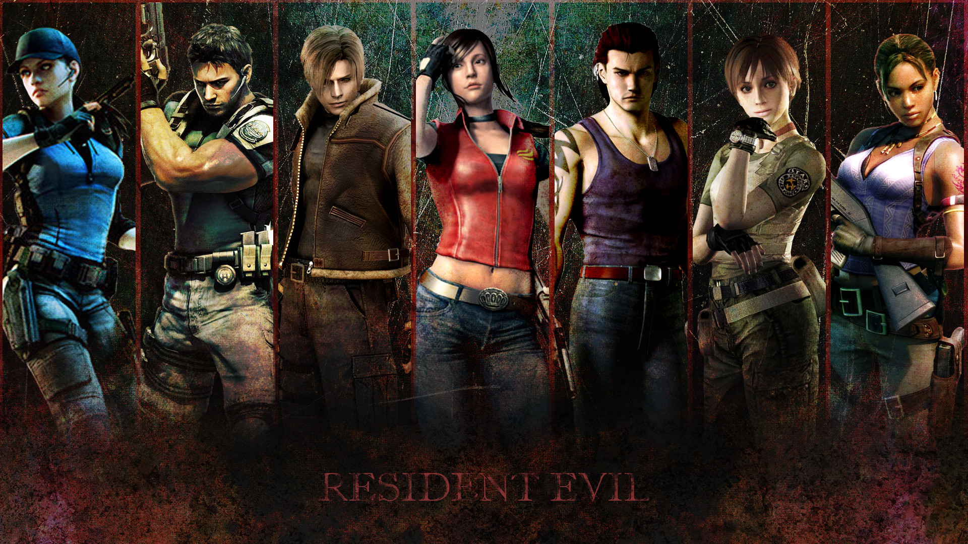 1920x1080 resident evil wallpaper by volpavol customization wallpaper other 2012 .