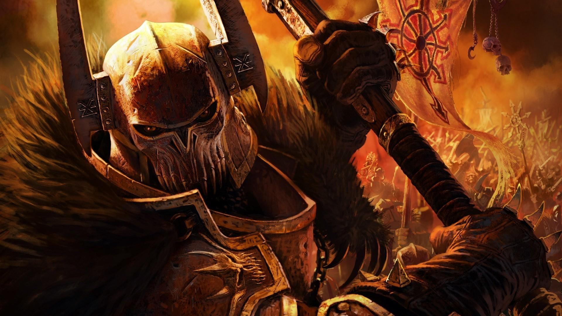 Dawn Of War 1920x1080: Warhammer 40K Chaos Wallpaper (75+ Images