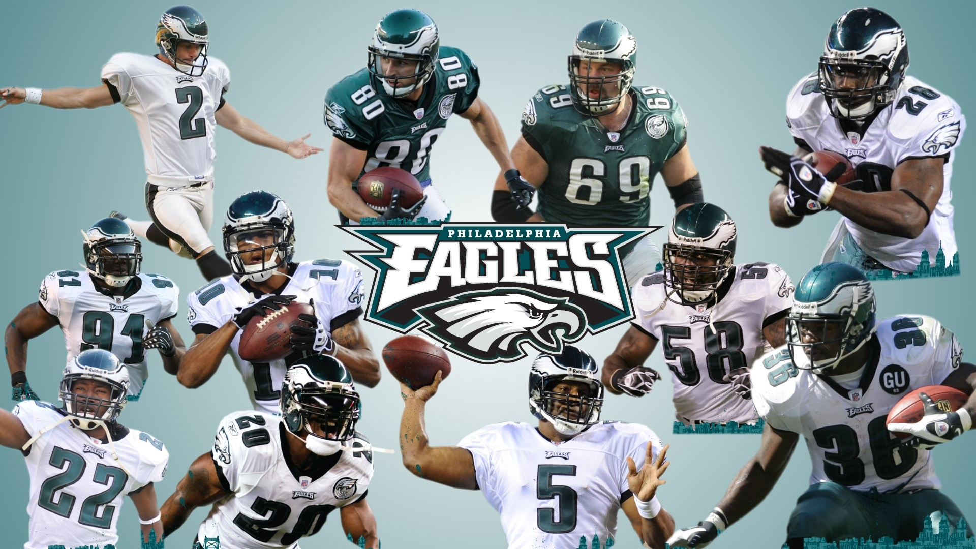 1920x1080 Philadelphia Eagles Wallpaper HD
