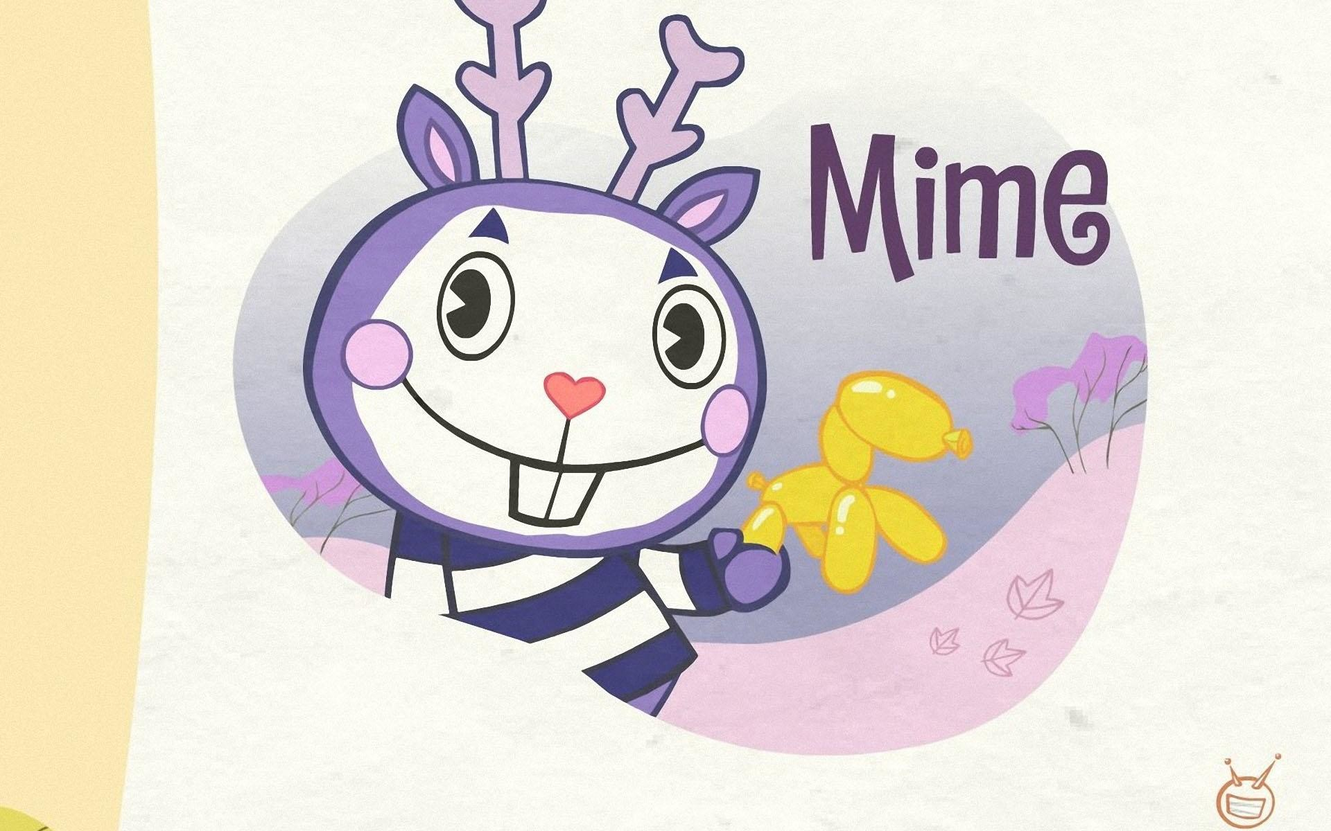 1920x1200 HD Wallpapers Mime- Happy Tree Friends 2011