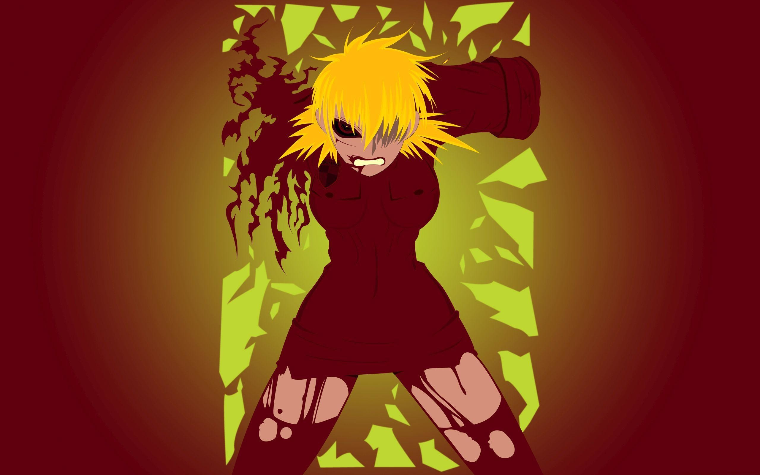2560x1600 Angry Seras Victoria - Hellsing
