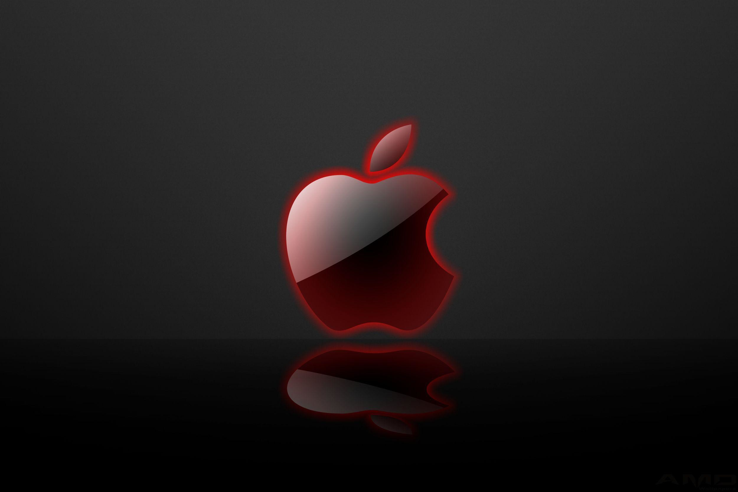 red apple logo wallpaper (64+ images)