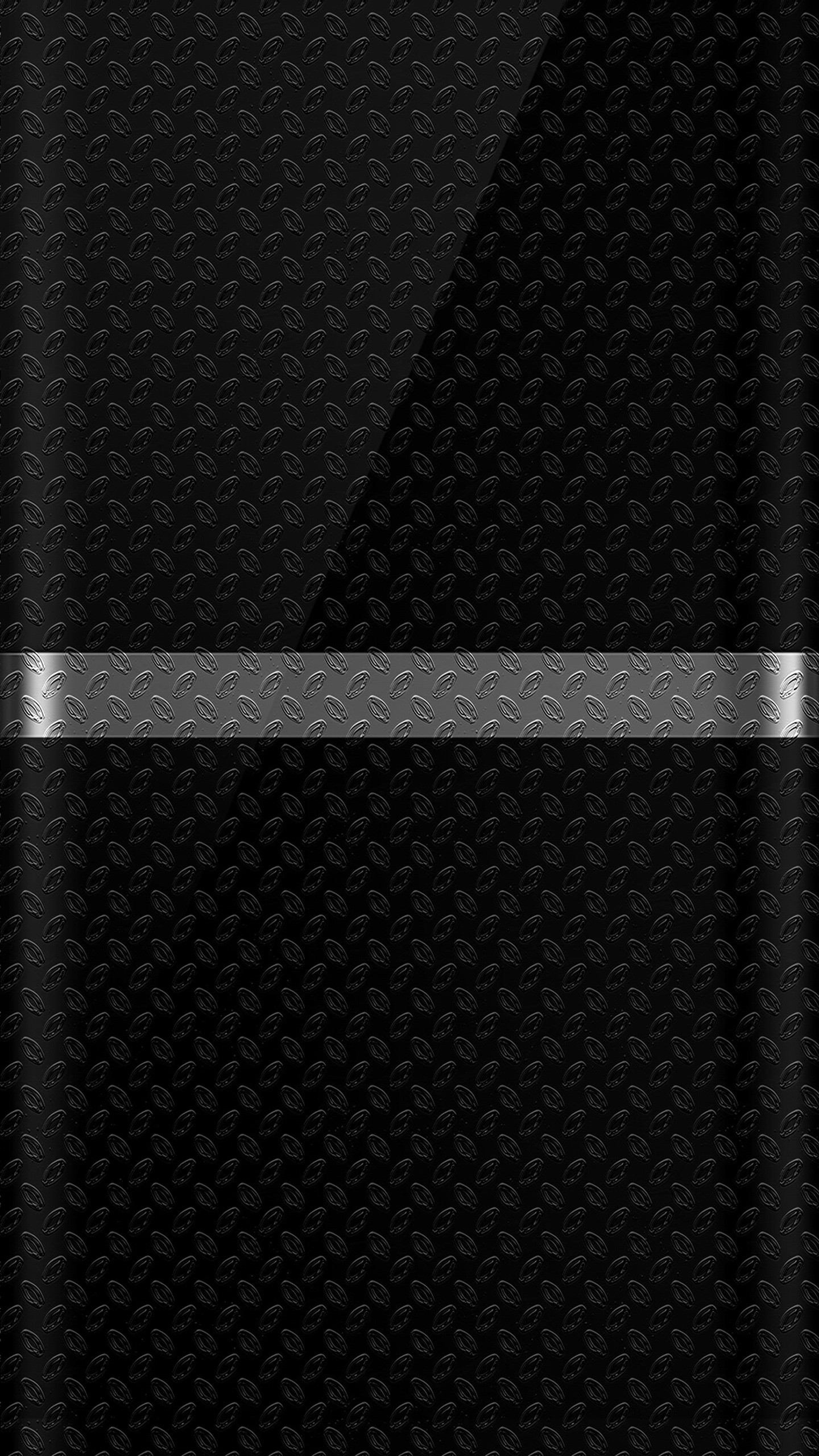 1440x2560 Dark S7 Edge Wallpaper 07 with Black Background and Silver Line