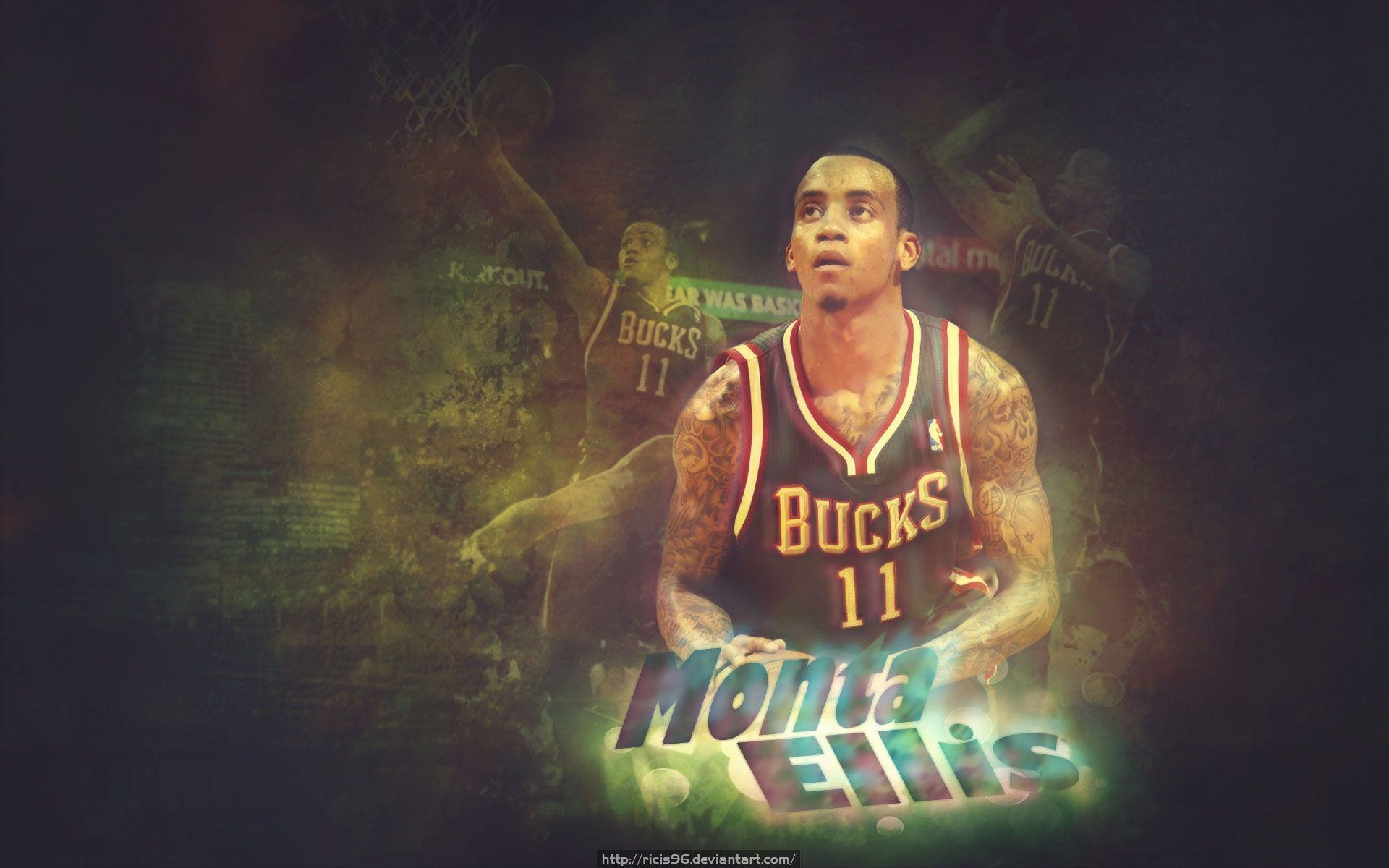 1920x1200 Monta Ellis Bucks  Wallpaper - Basketball Wallpapers