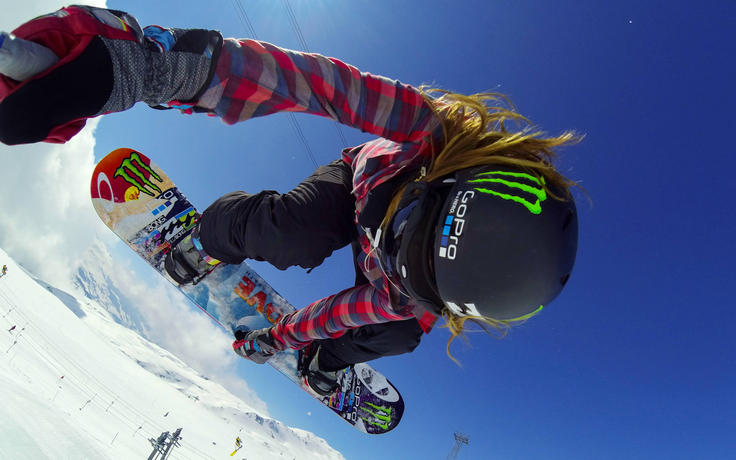 Gopro wallpaper 69 images 2560x1600 jamie anderson snowboarding gopro widescreen and full hd wallpapers voltagebd Image collections