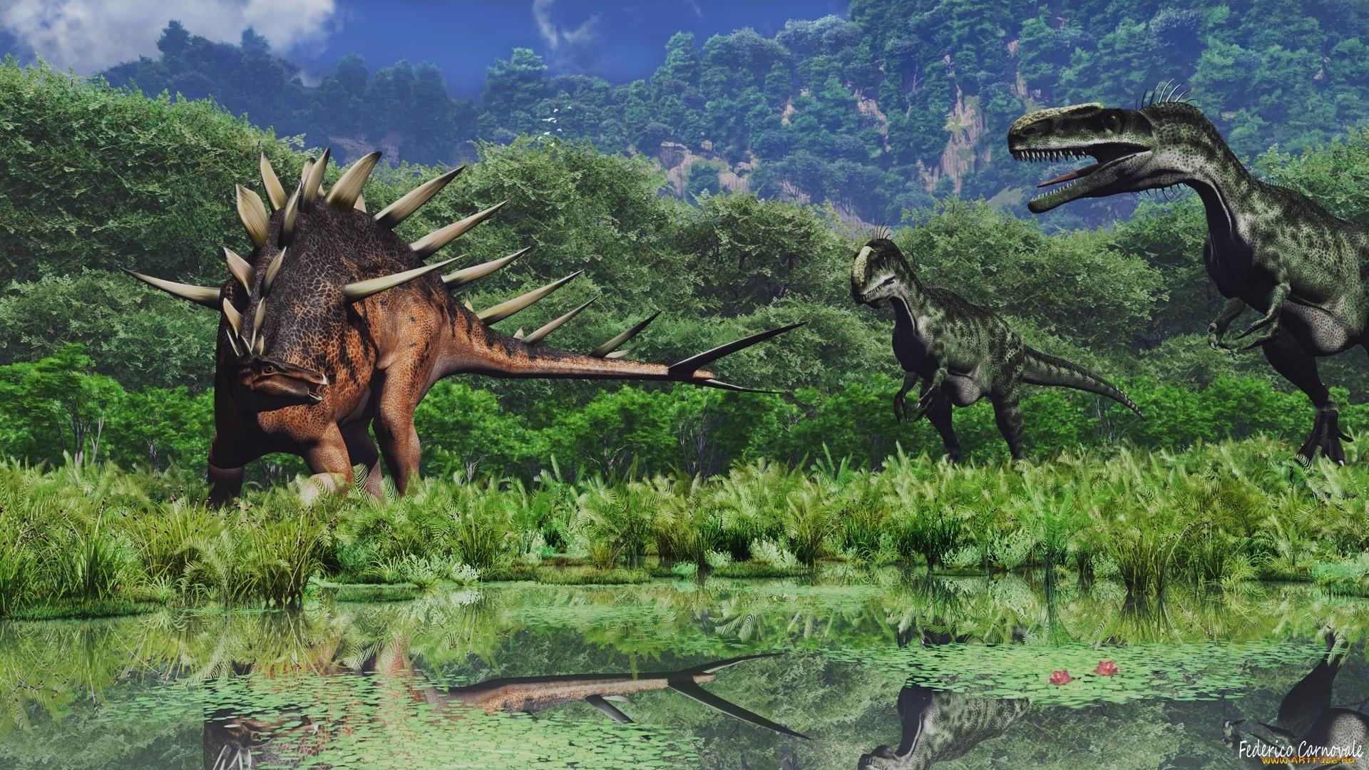 Prehistoric Jungle Wallpaper (58+ images)