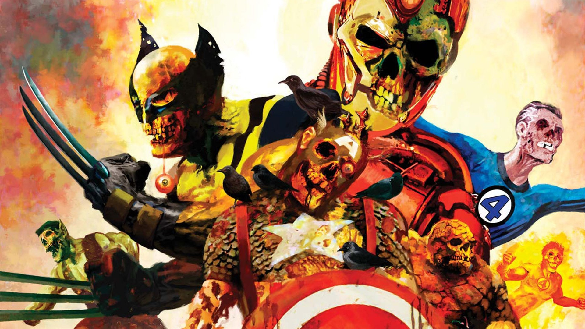 1920x1080 18 Marvel Zombies HD Wallpapers
