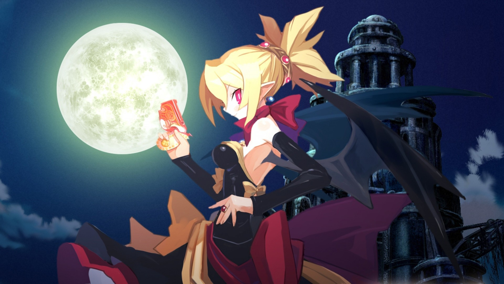 1920x1080 Get the latest demon disgaea 2, girl, dress news, pictures and videos and  learn all about demon disgaea 2, girl, dress from wallpapers4u.org, your  wallpaper ...