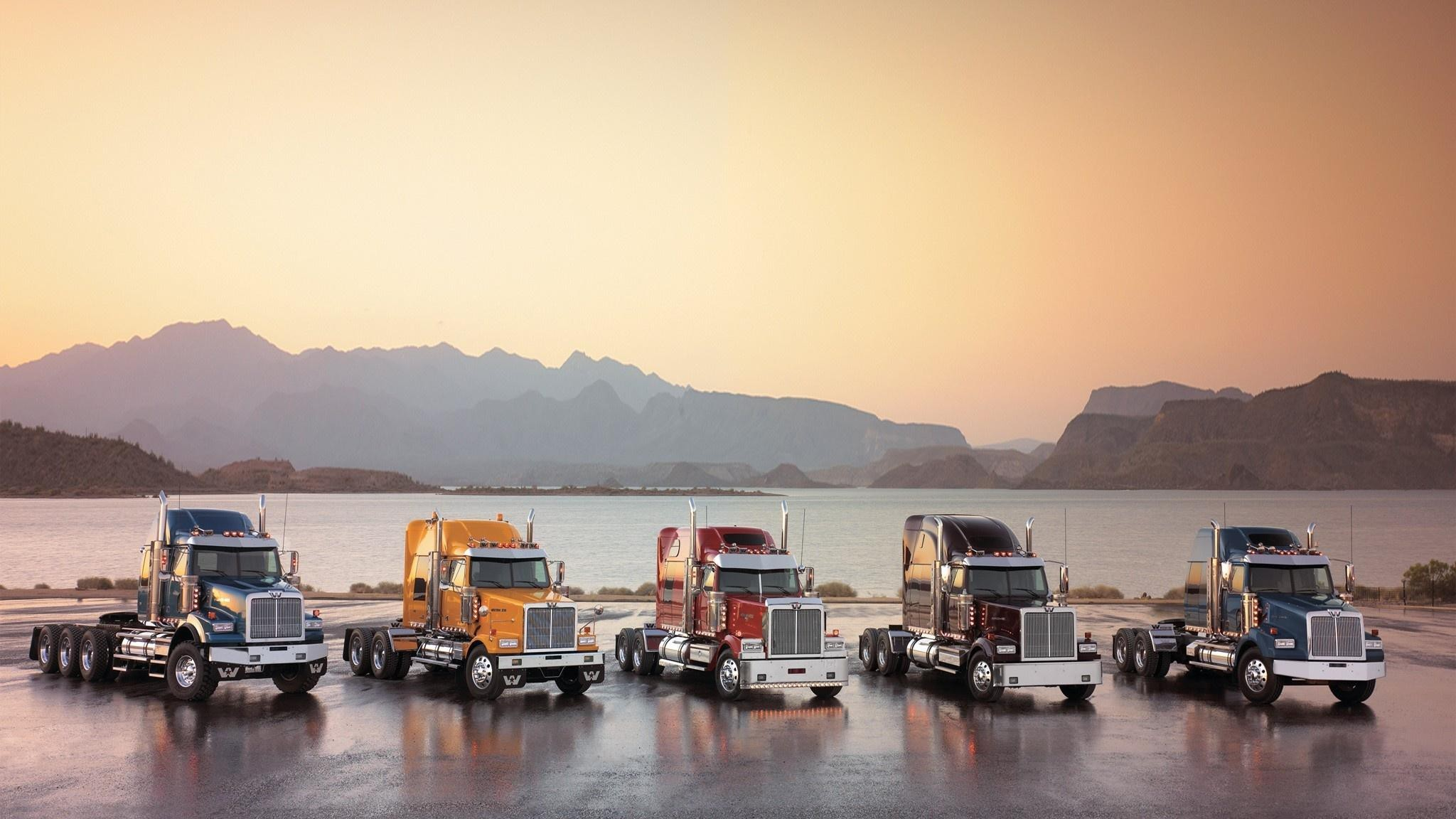 2048x1152 ... cool semi truck wallpaper · Download Image