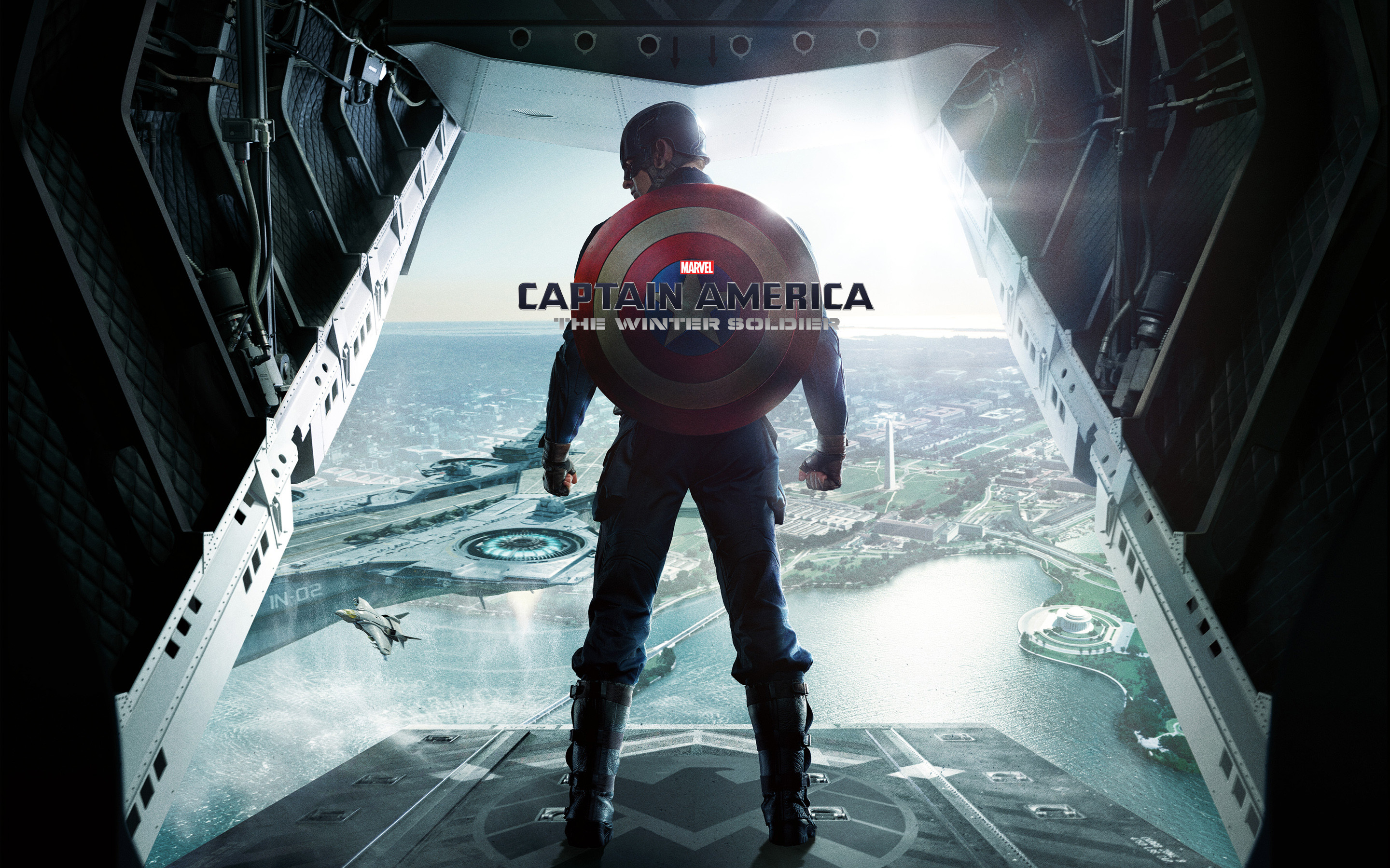 2880x1800 Tags: Winter America Soldier Captain