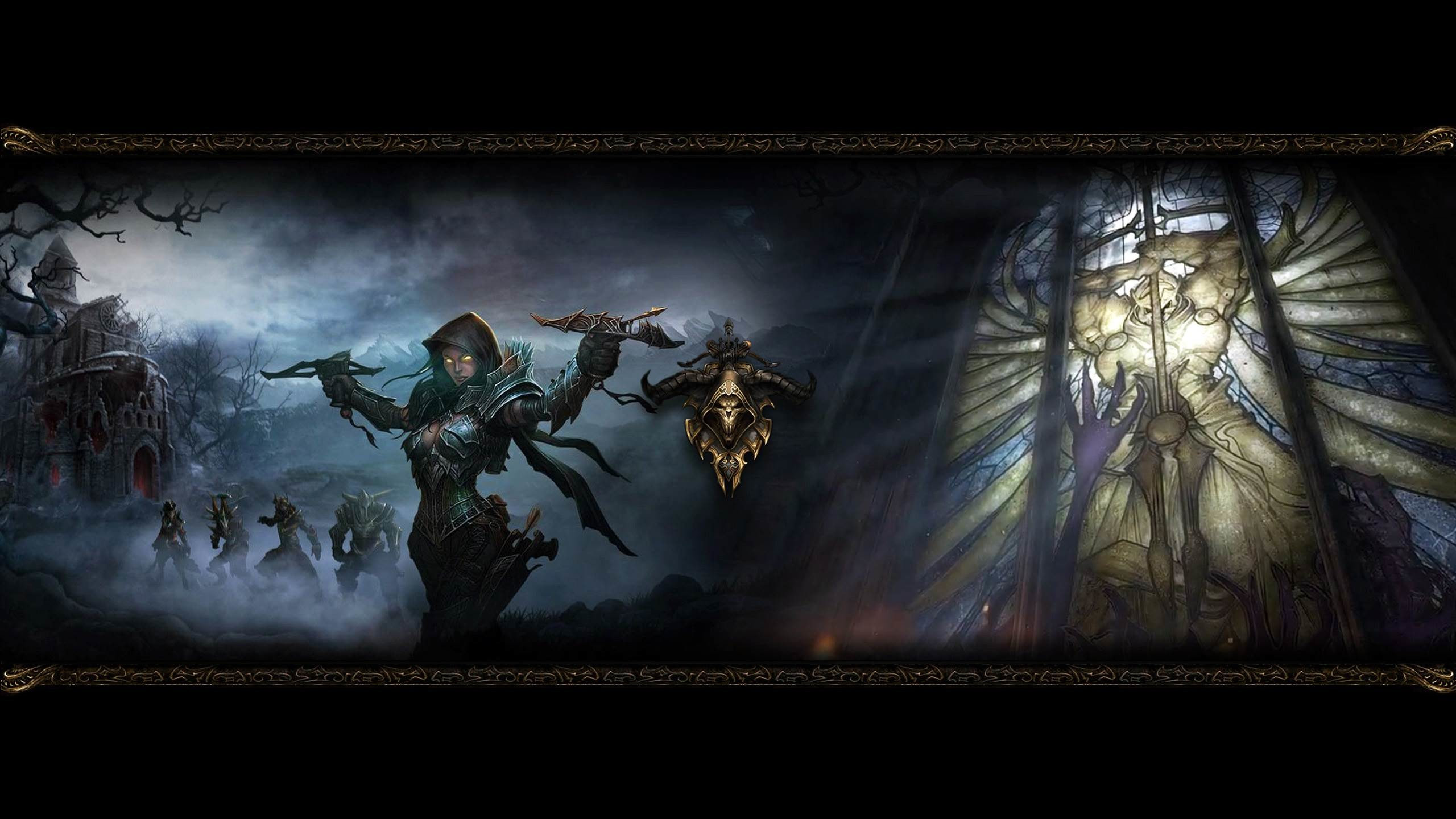 2560x1440 Demon Hunter Diablo Wallpaper HD For Desktop and Mobile 1920×1080 Demon Hunter  Wallpapers |