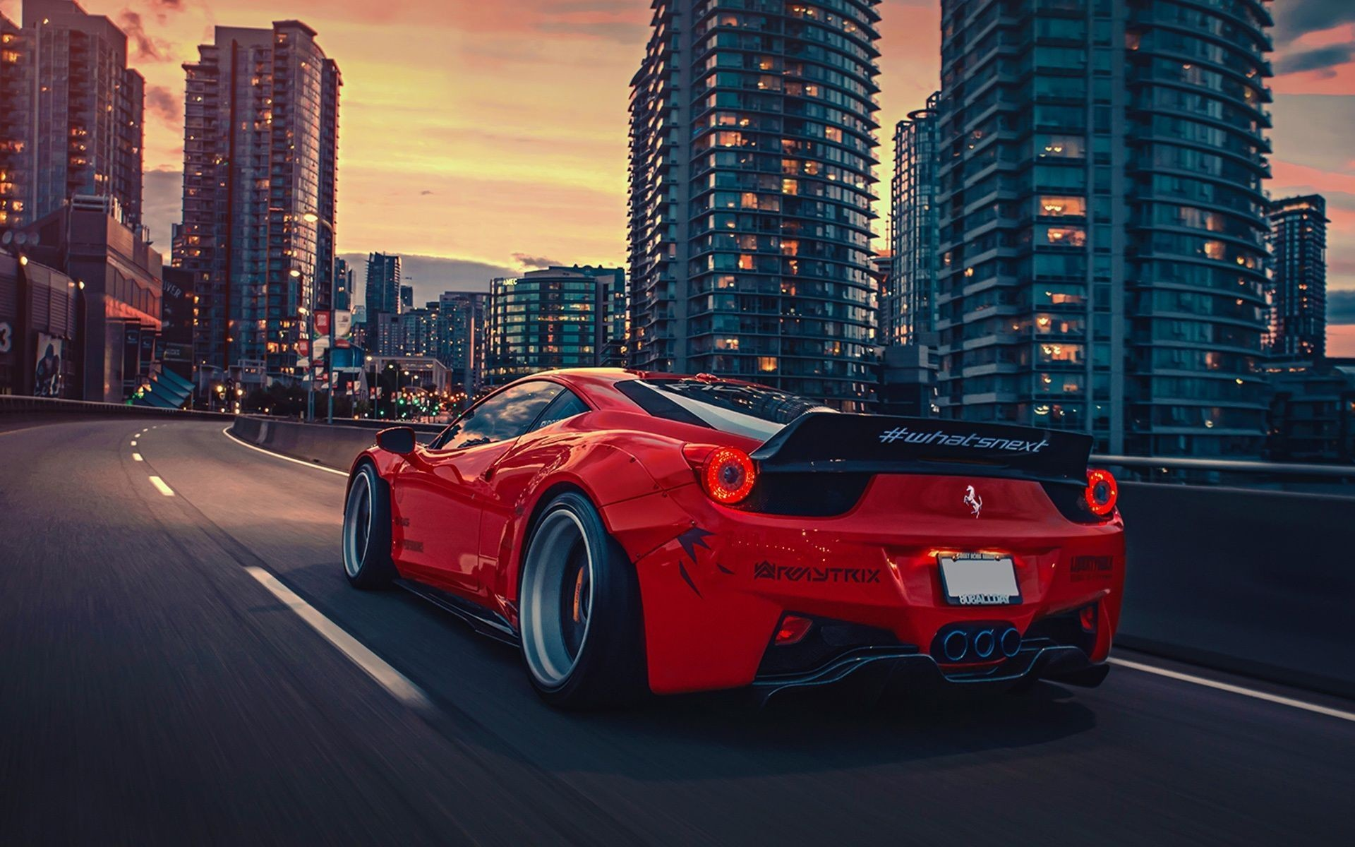 1920x1200 Ferrari 458 Liberty Walk Wallpaper