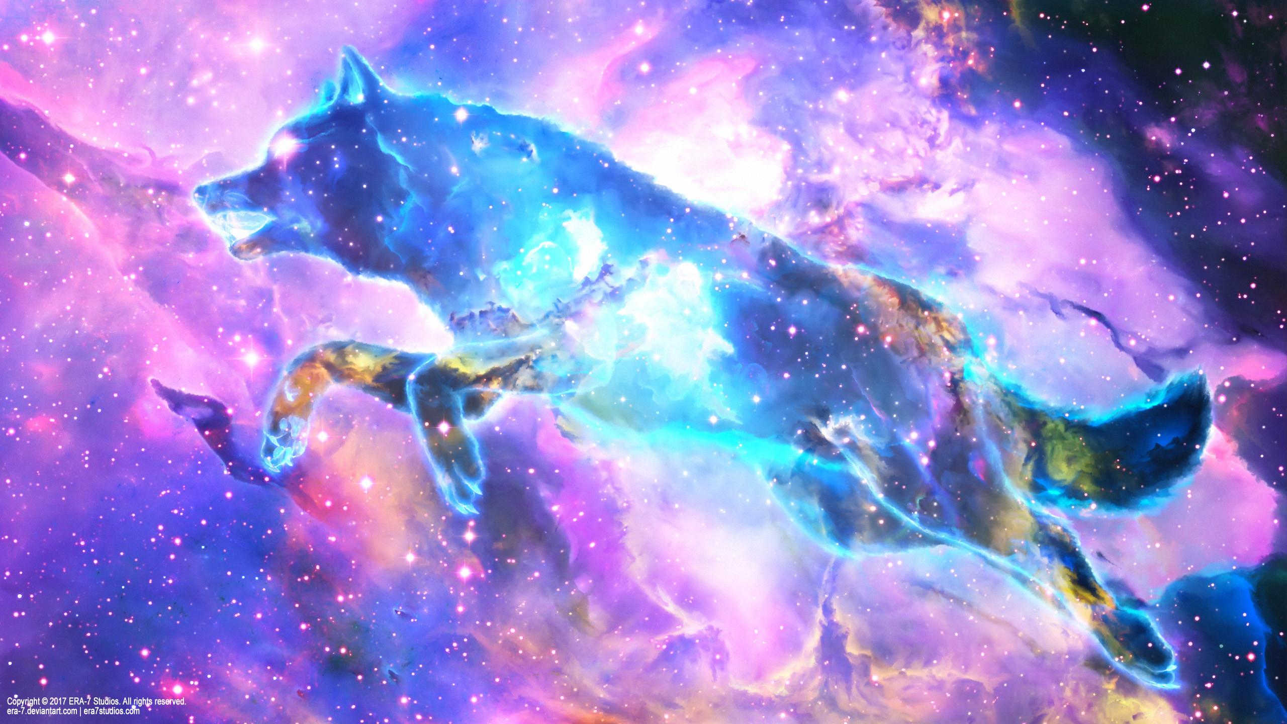 Galaxy Wolf Wallpaper (69+ images)
