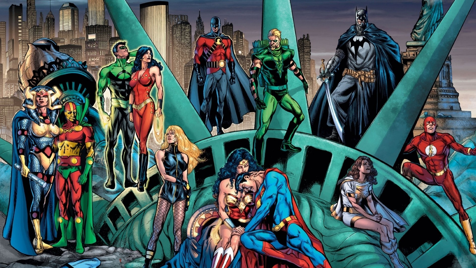 DC New 52 Wallpaper (64+ images)